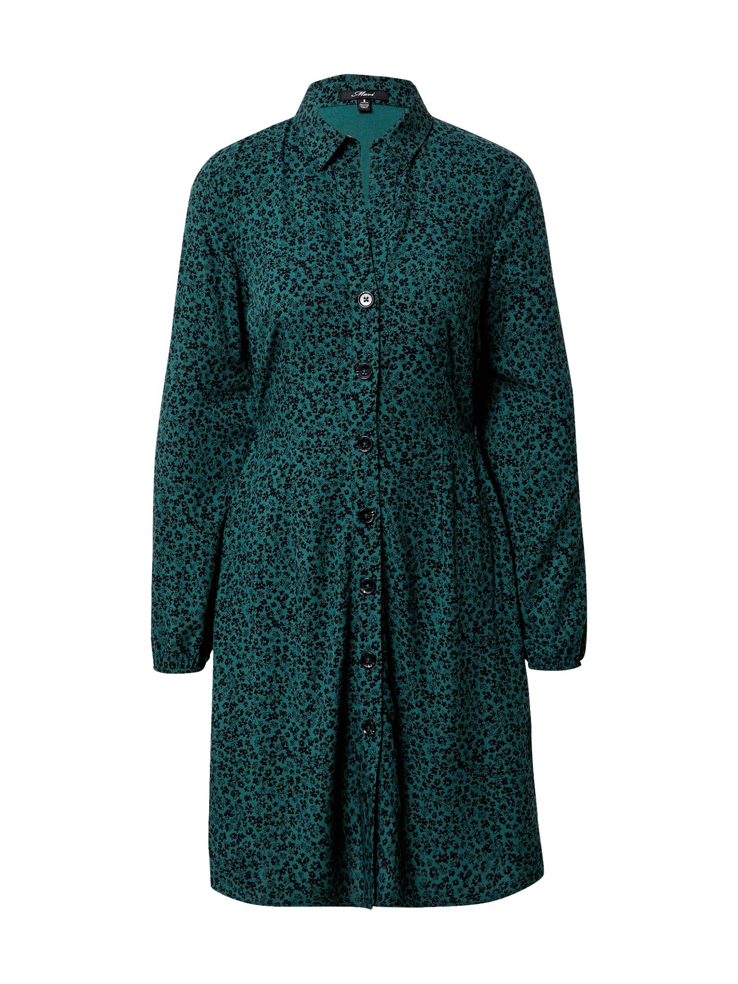 Mavi Palaidinės tipo suknelė žalia / juoda