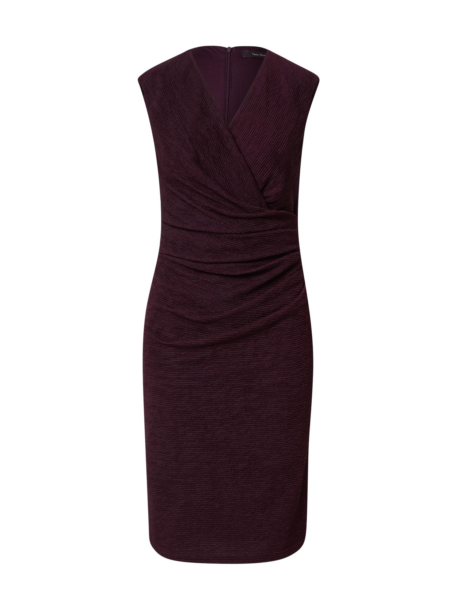Vera Mont Suknelė baklažano spalva