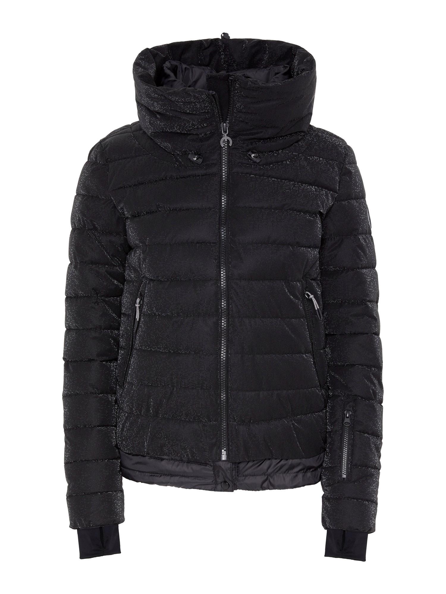 CHIEMSEE Sportovní bunda 'Makula'  černá