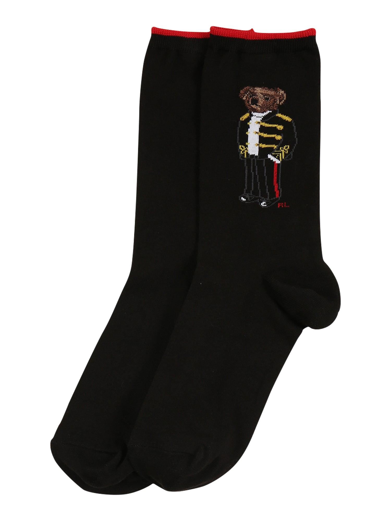 POLO RALPH LAUREN Ponožky 'Admiral Bear'  mix barev / černá