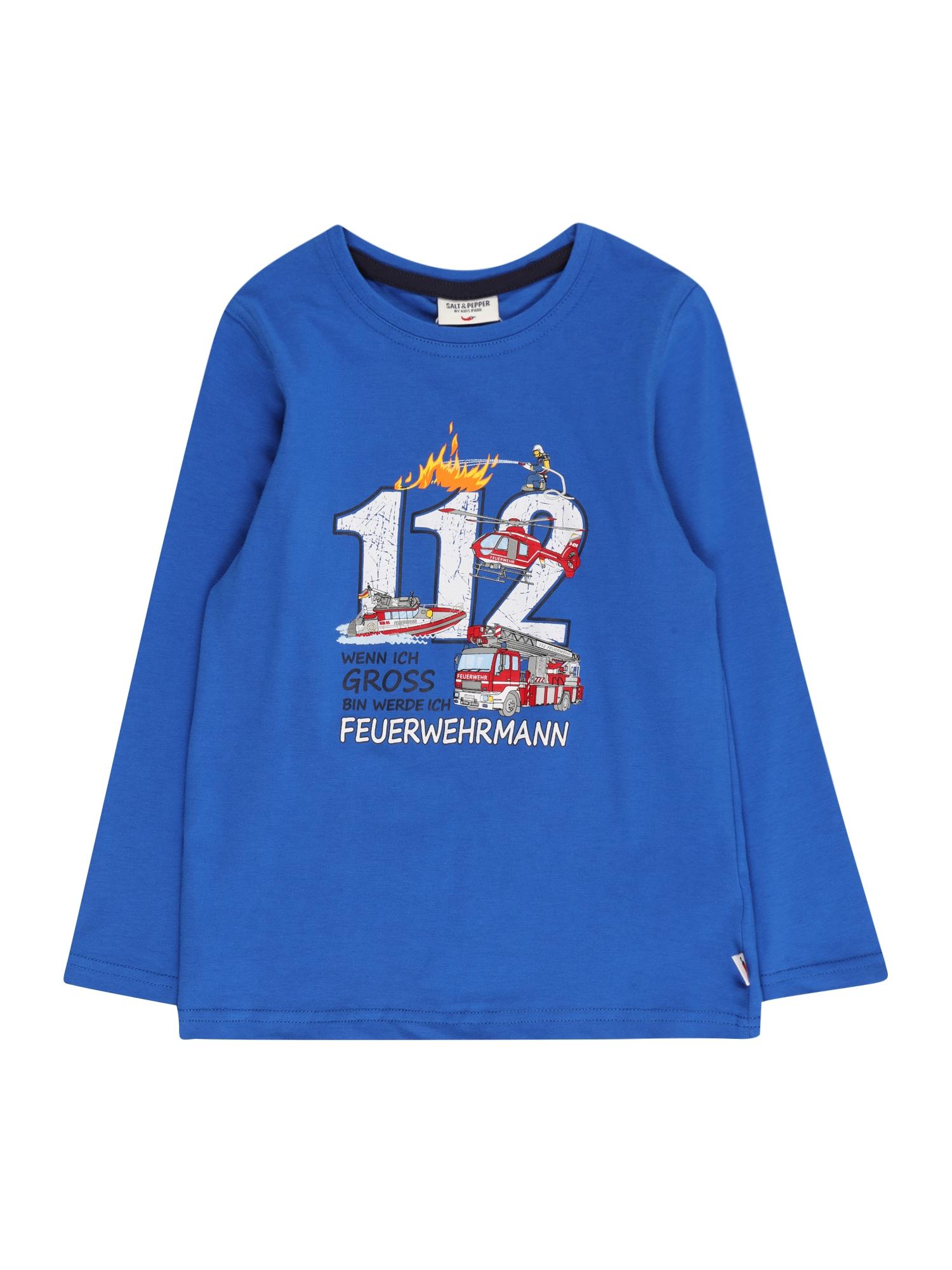 SALT AND PEPPER Marškinėliai mėlyna / mišrios spalvos