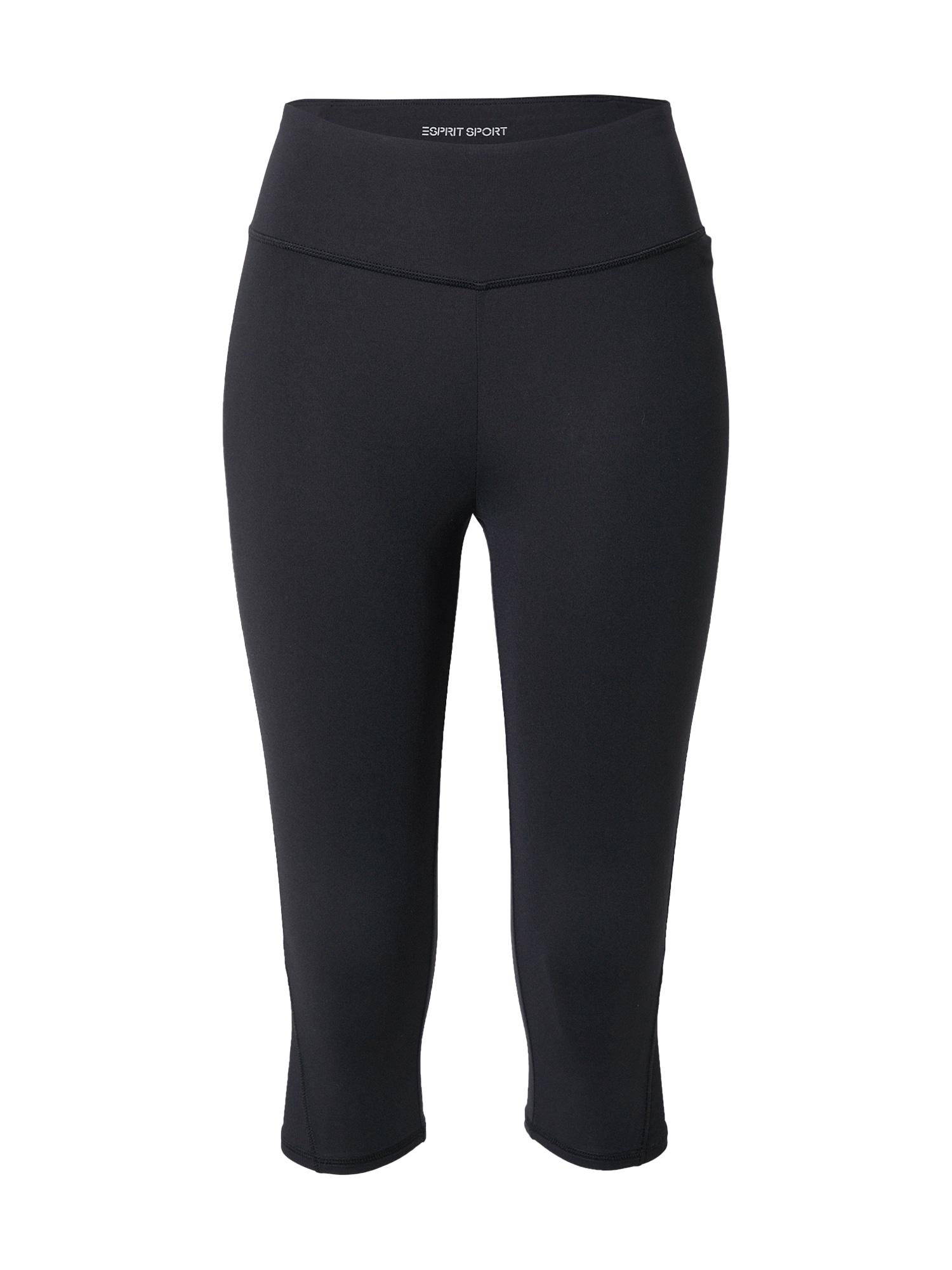ESPRIT SPORT Sportinės kelnės juoda