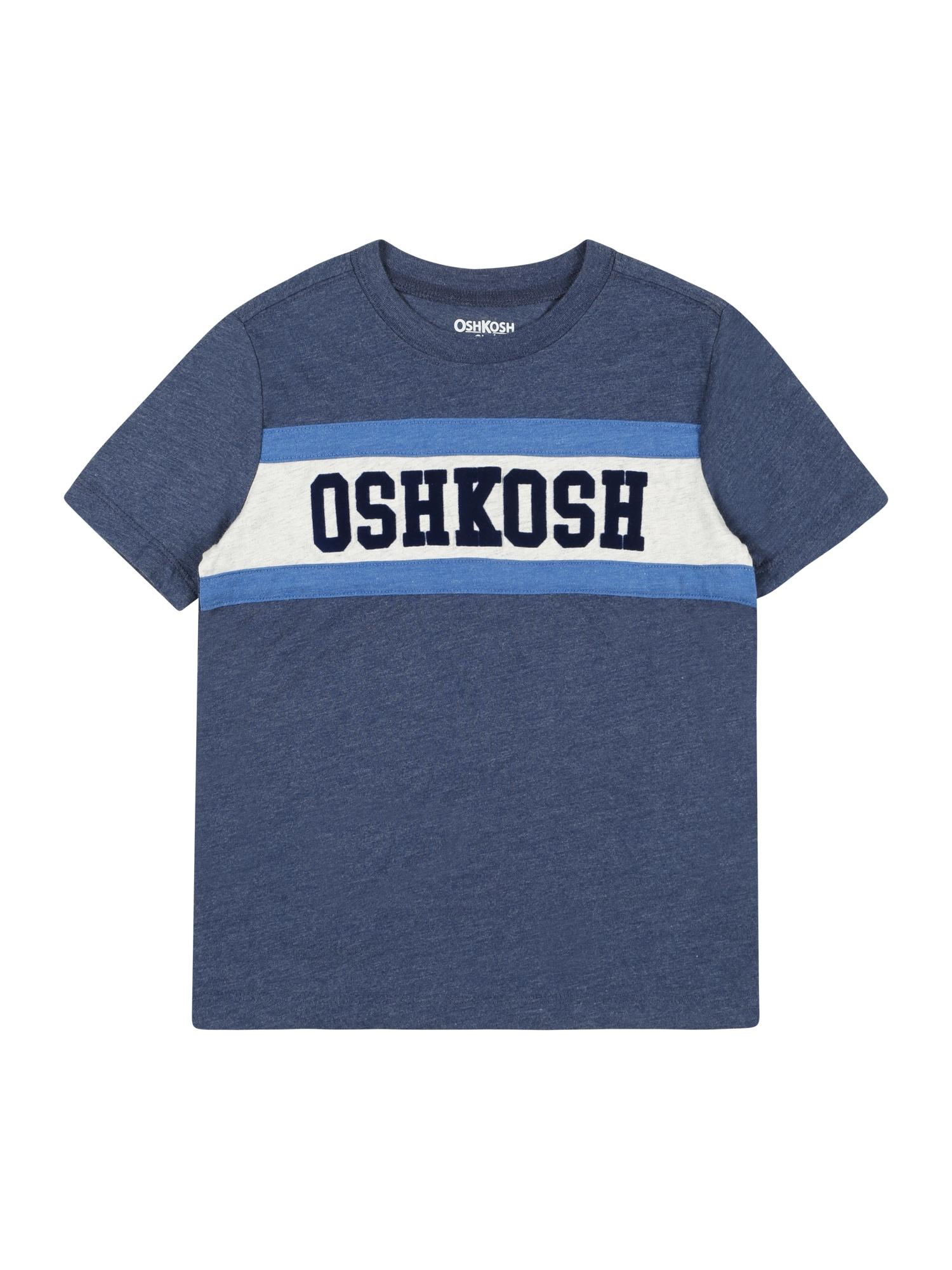 OshKosh Marškinėliai mėlyna / balta / tamsiai mėlyna
