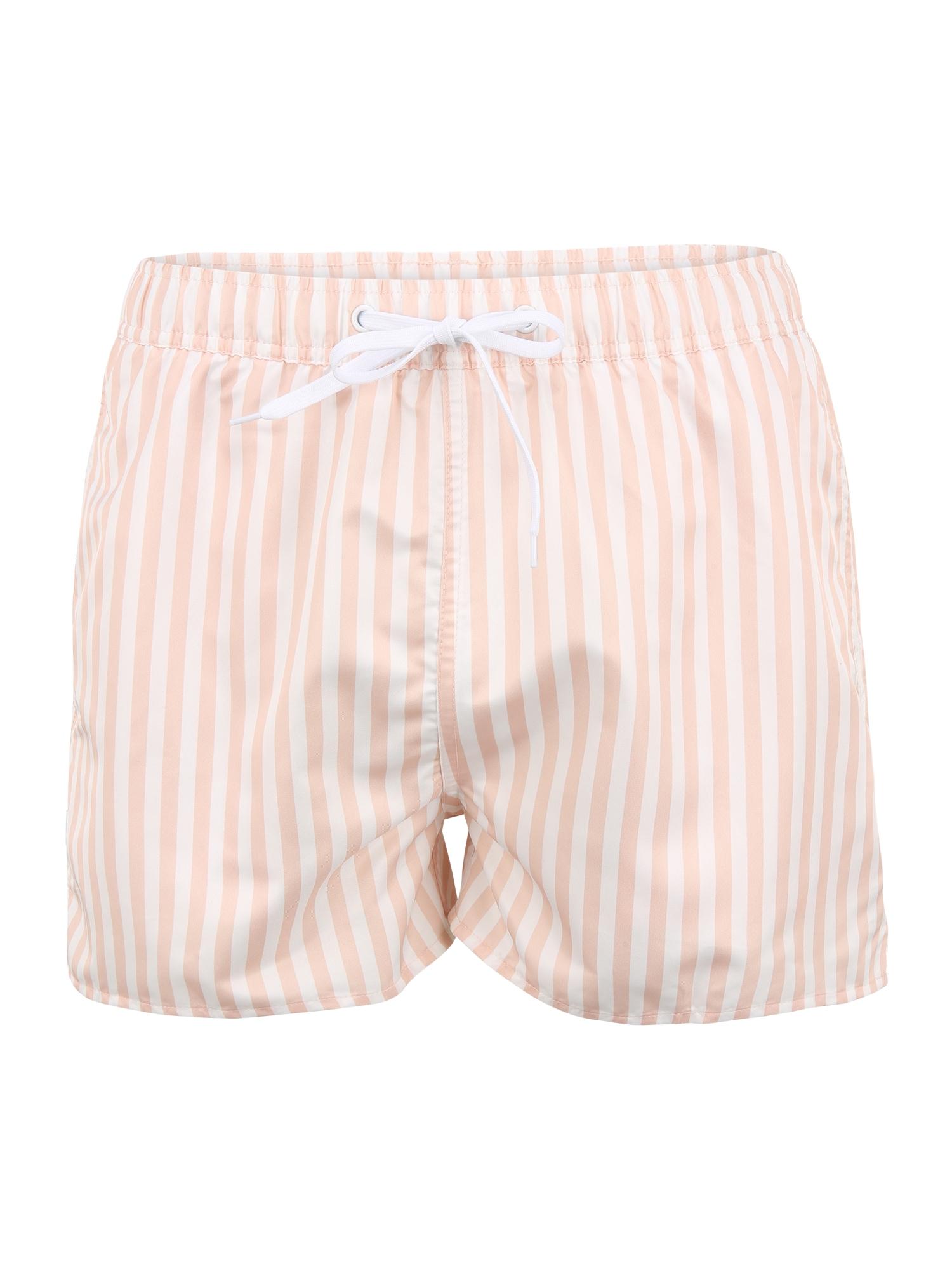 Resteröds Maudymosi trumpikės balta / pastelinė rožinė