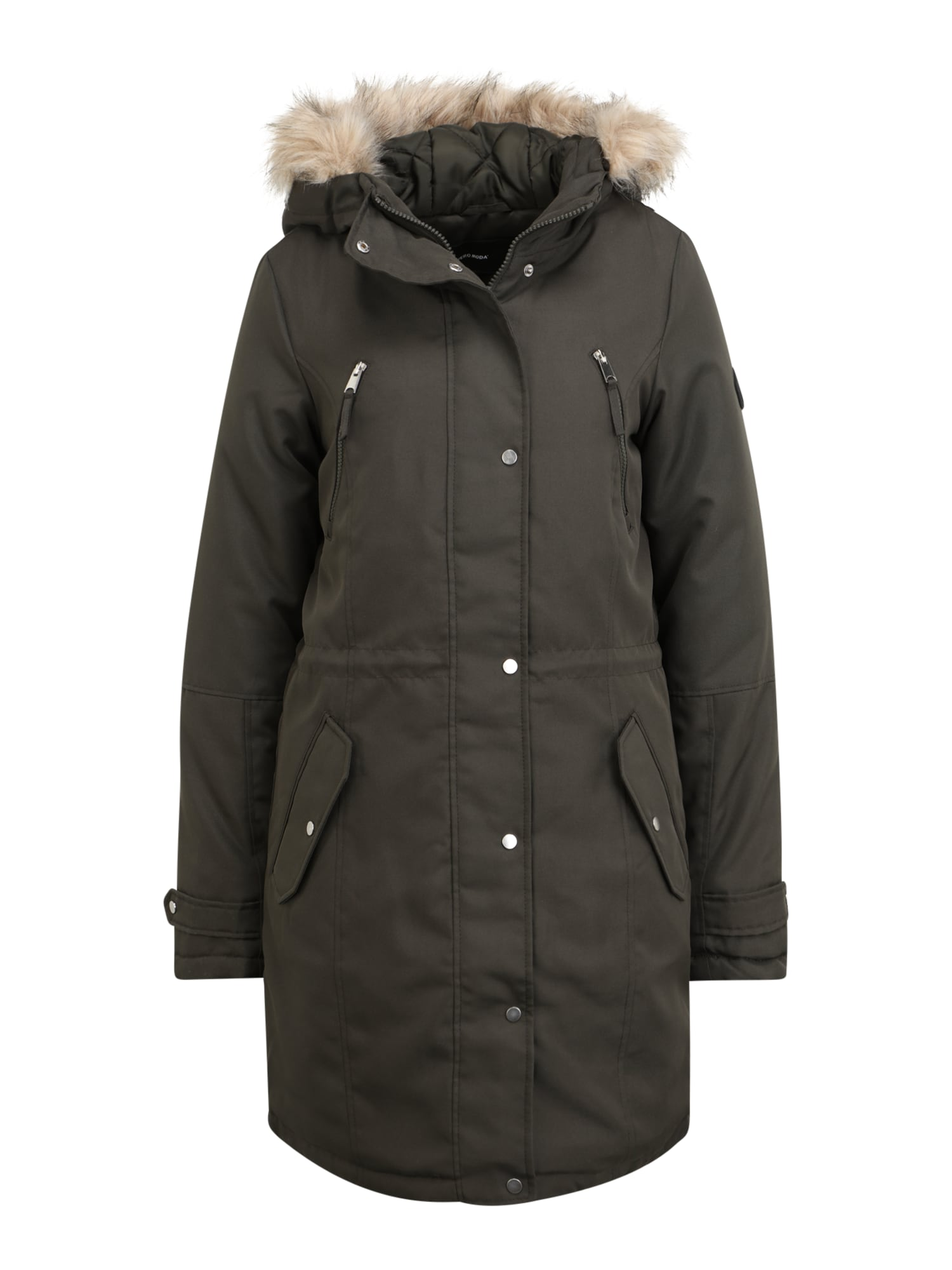 Vero Moda Tall Zimní parka 'EXPEDITION TRACK'  tmavě šedá