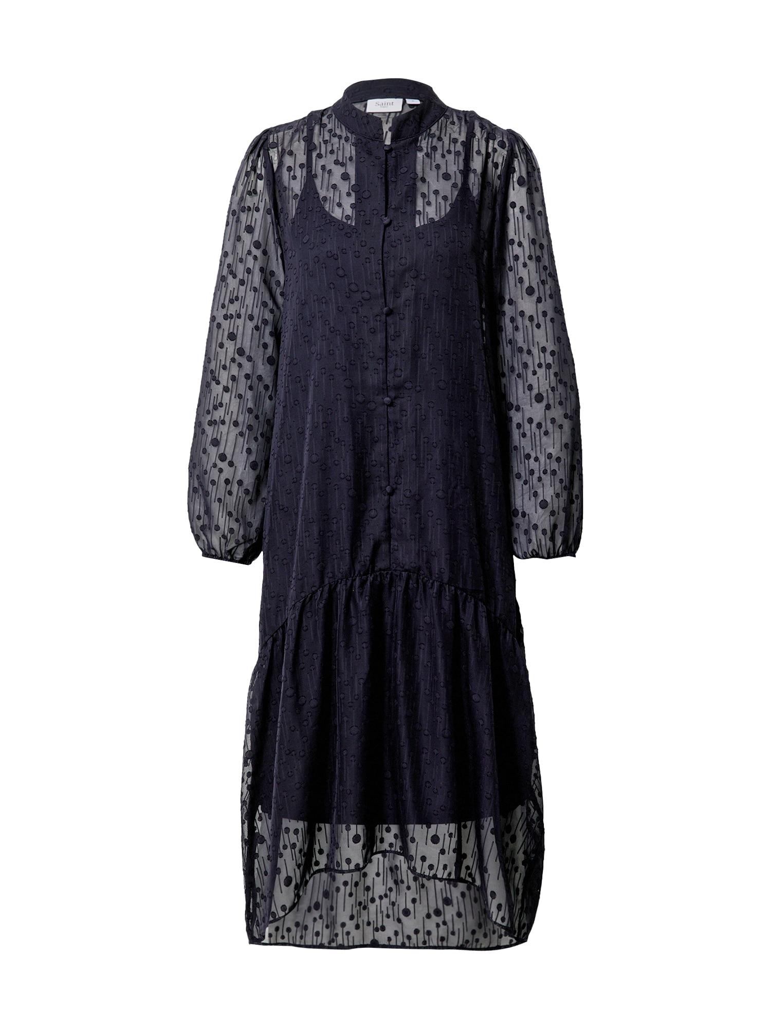 SAINT TROPEZ Palaidinės tipo suknelė 'Elenora' tamsiai mėlyna