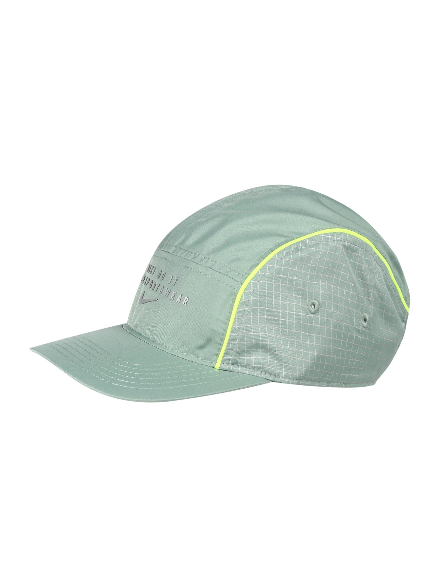 Nike Sportswear Kepurė mėtų spalva / neoninė žalia / balta