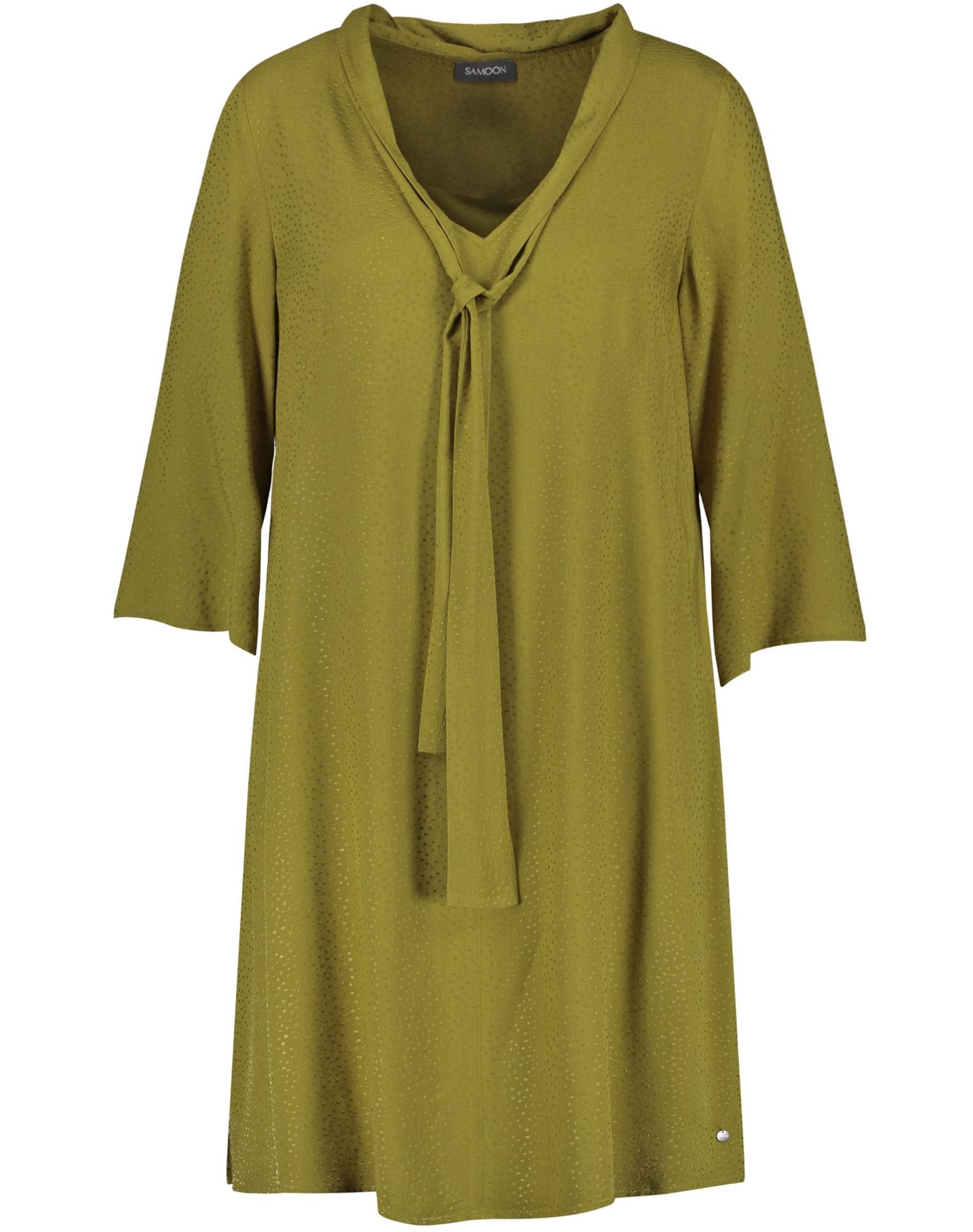 SAMOON Suknelė žalia