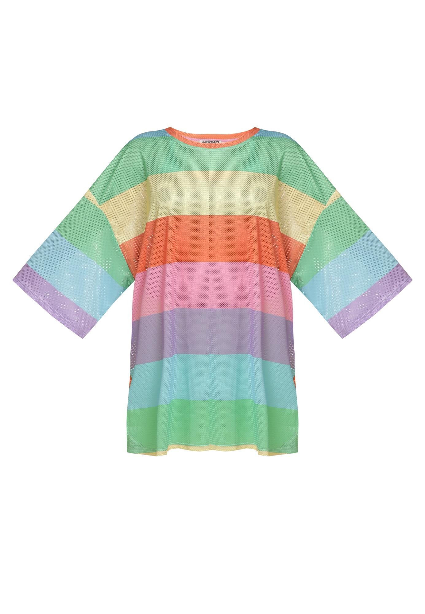 myMo ATHLSR Sportiniai marškinėliai neoninė žalia / oranžinė / pastelinė geltona / purpurinė / rožinė