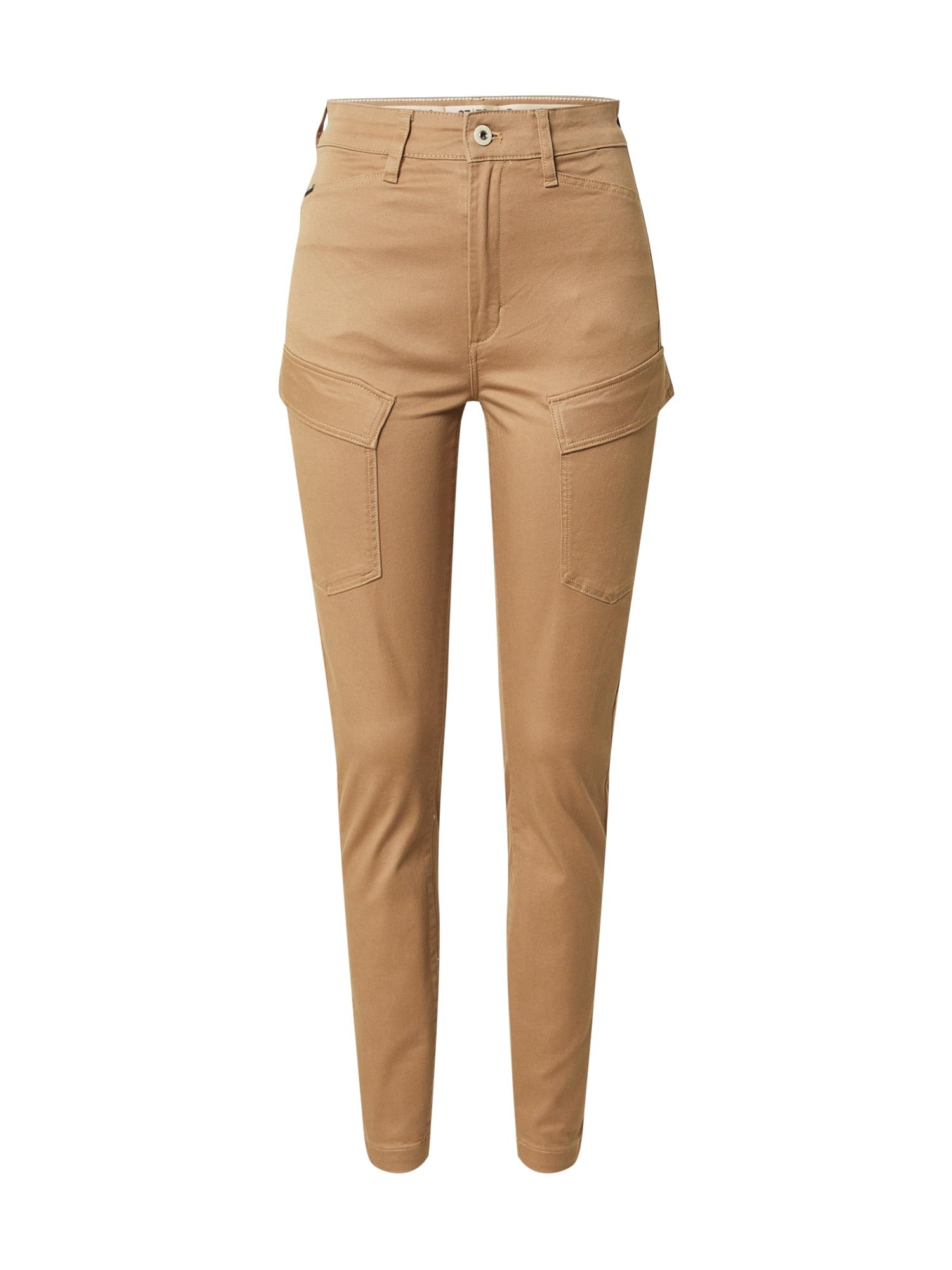G-Star RAW Darbinio stiliaus džinsai smėlio spalva