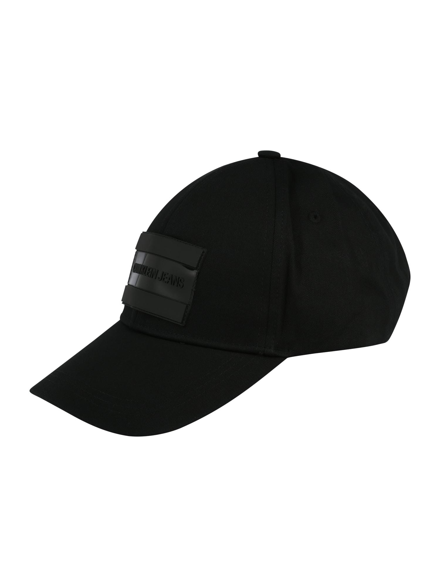 Calvin Klein Jeans Kepurė juoda