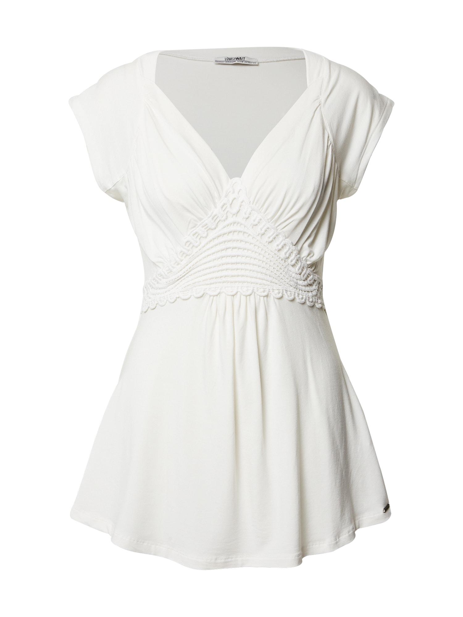 LOVE2WAIT Marškinėliai balta