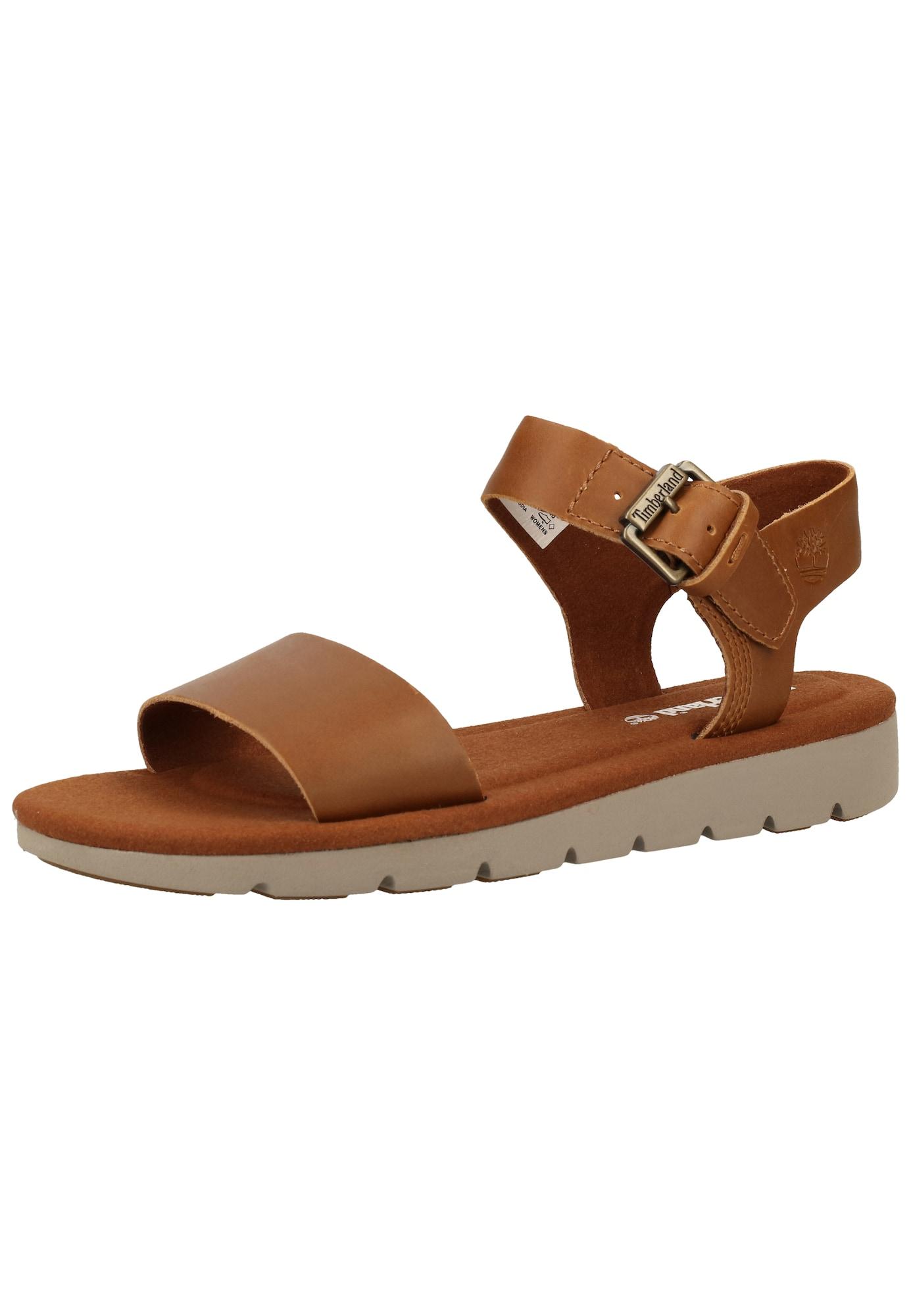 TIMBERLAND Remienkové sandále 'Lottie Lou'  karamelová
