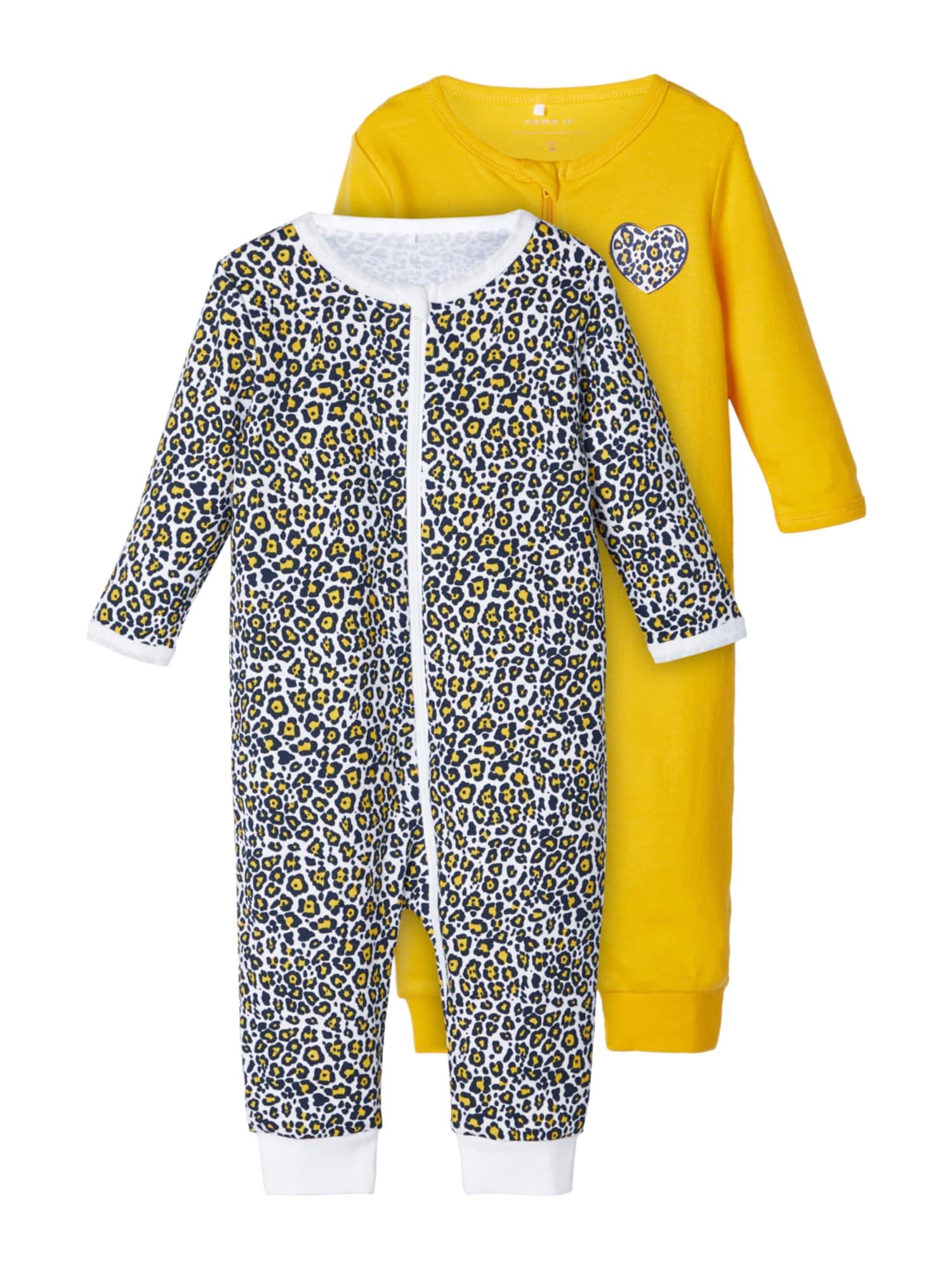 NAME IT Miego kostiumas geltona / mišrios spalvos