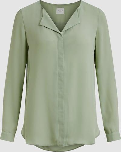 Vila Lucy Langärmeliges Hemd mit V-Ausschnitt und Knöpfen