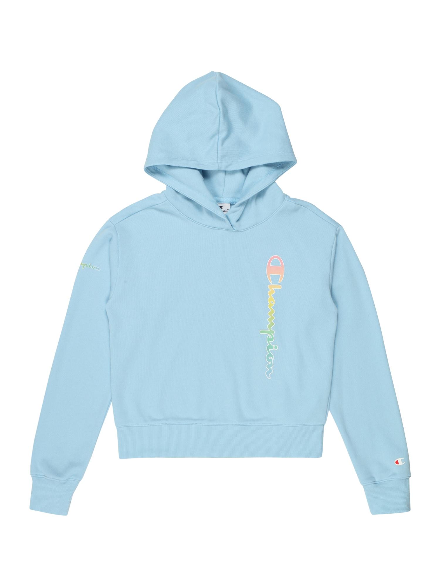 Champion Authentic Athletic Apparel Megztinis be užsegimo mėlyna / rožinė / geltona / žalia