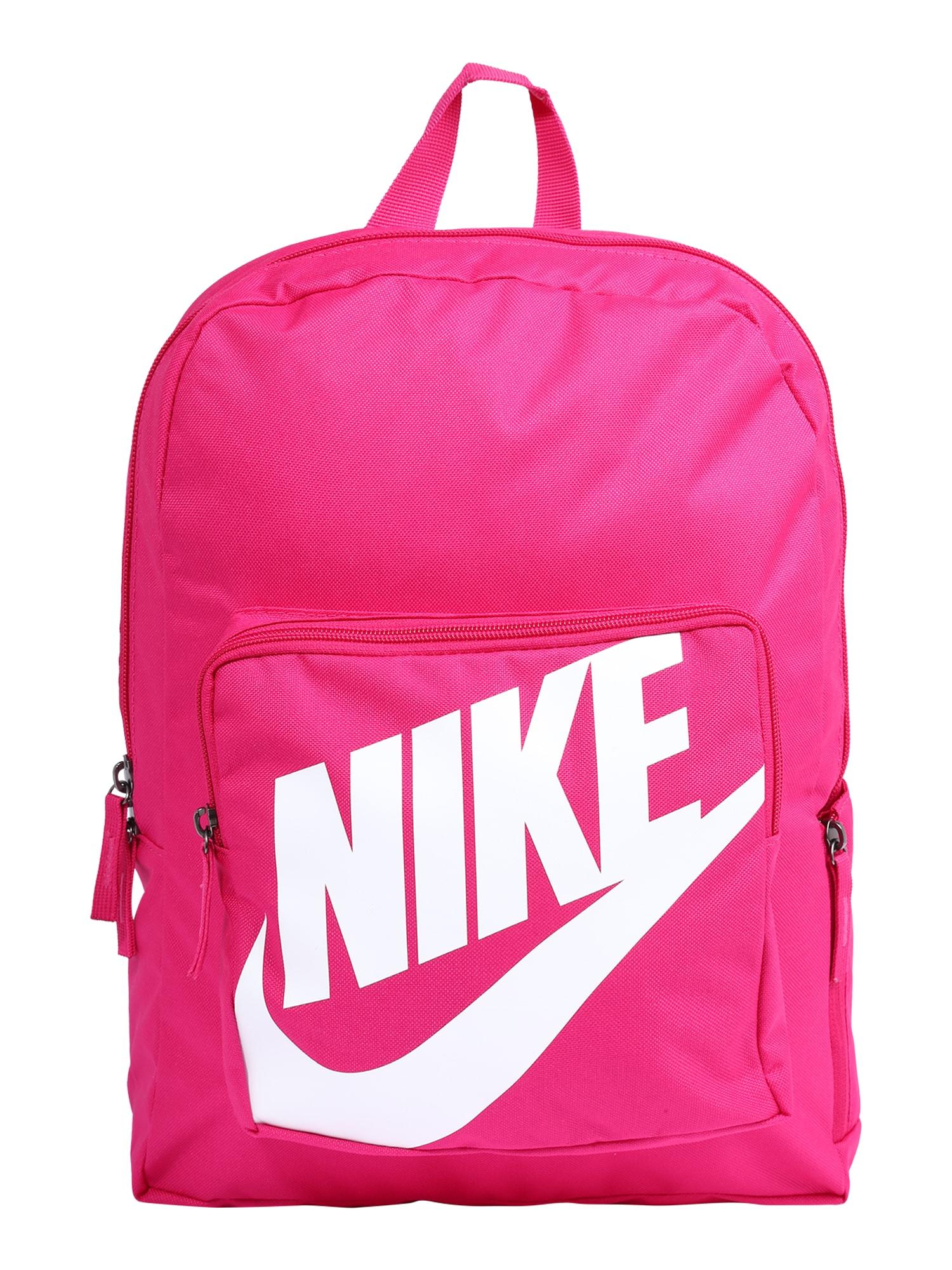 Nike Sportswear Kuprinė balta / rožinė