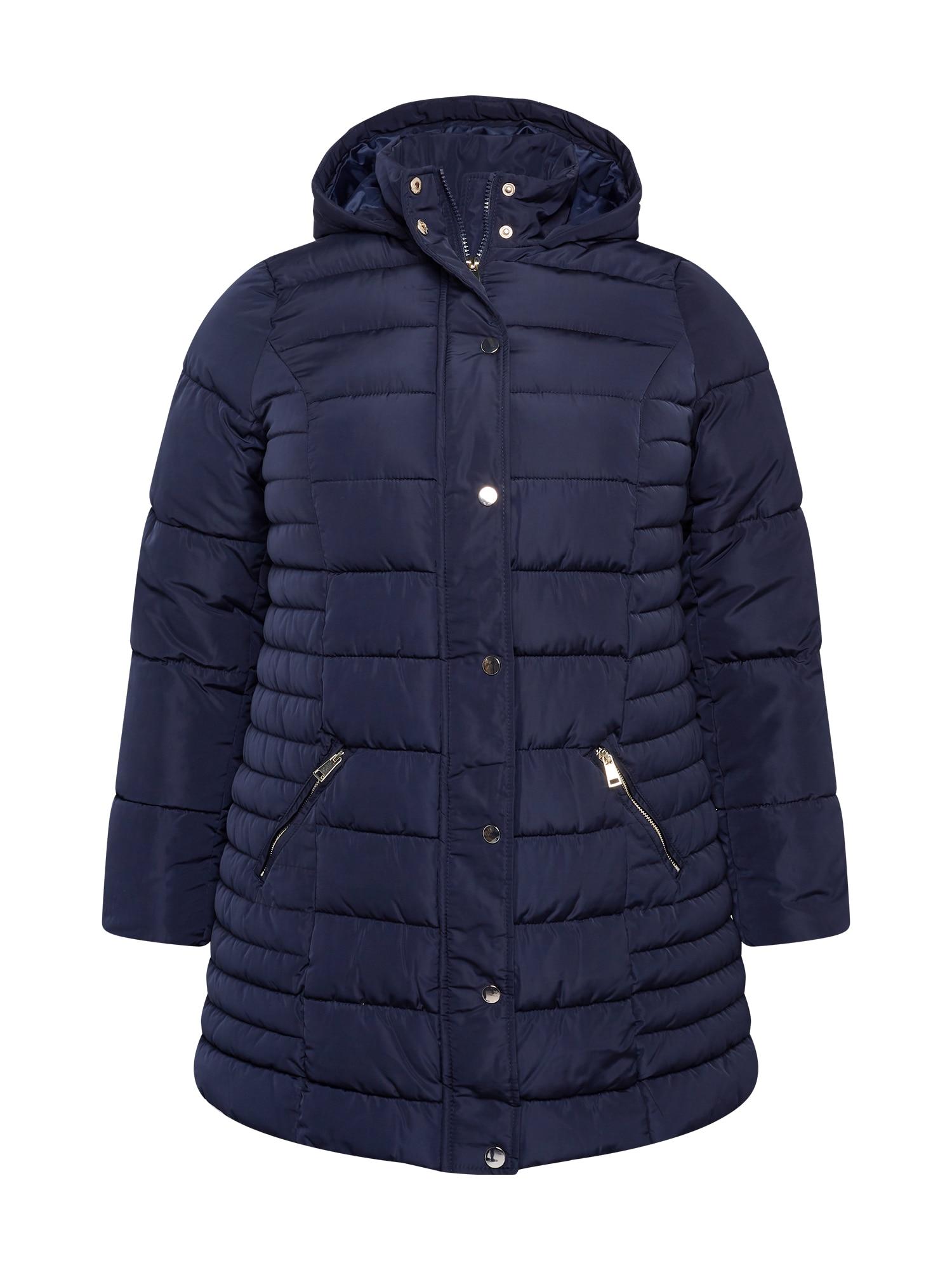 Dorothy Perkins Curve Demisezoninis paltas tamsiai mėlyna