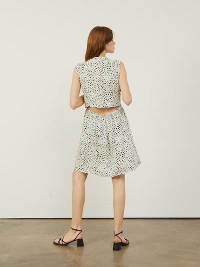 DOMINIQUE Kleid mit offener Rückenpartie