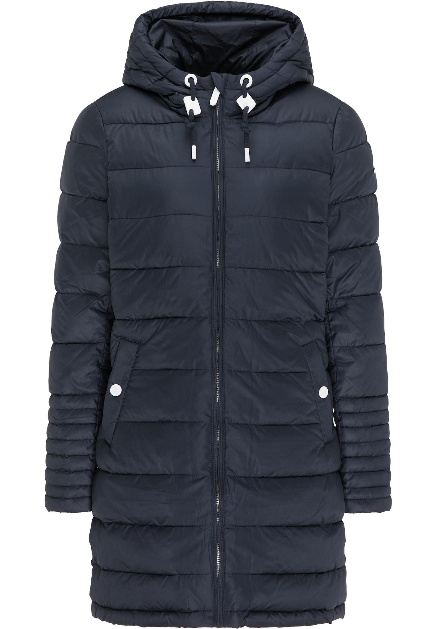 ICEBOUND Žieminis paltas tamsiai mėlyna jūros spalva