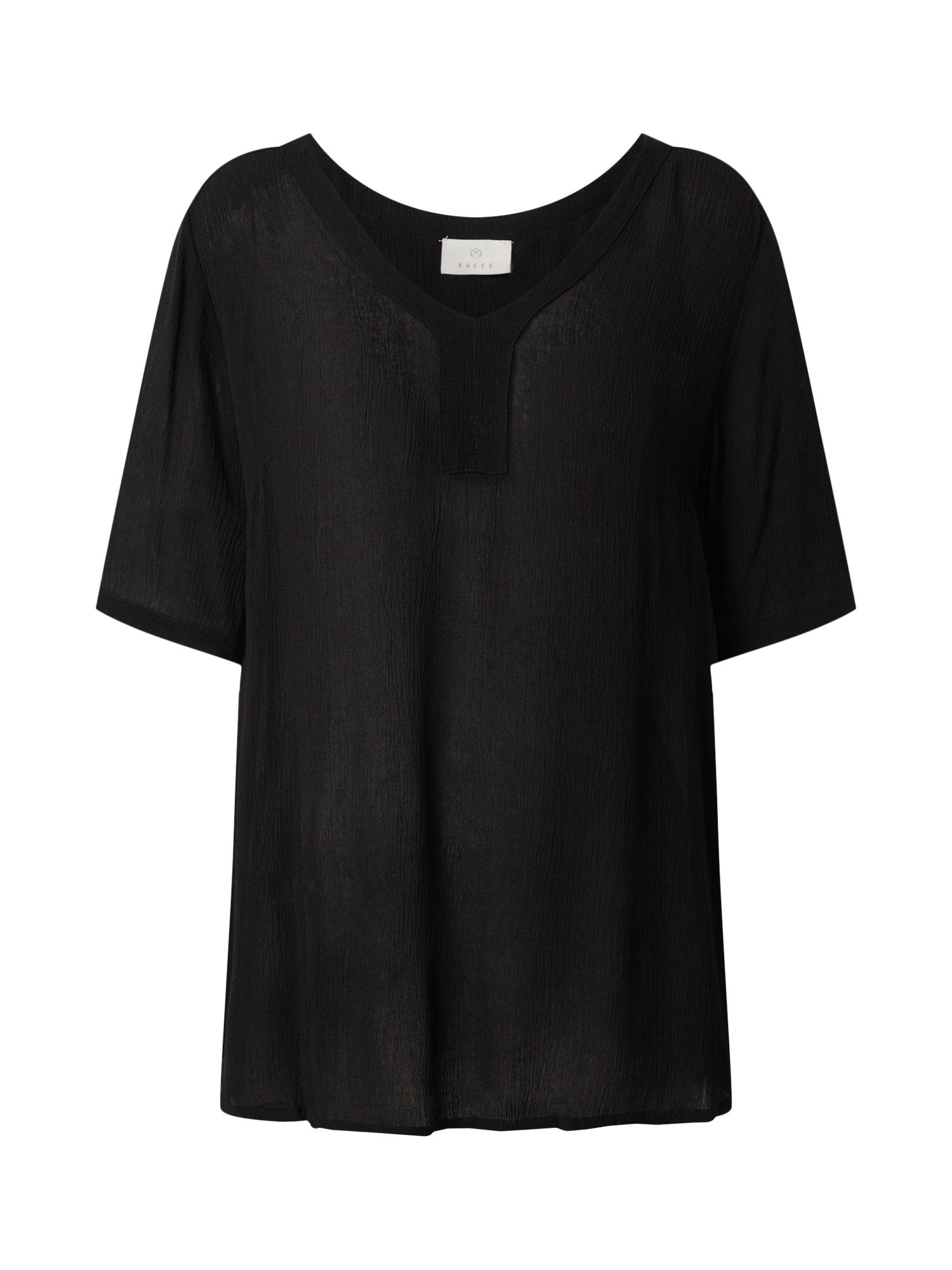 Kaffe Marškinėliai juoda