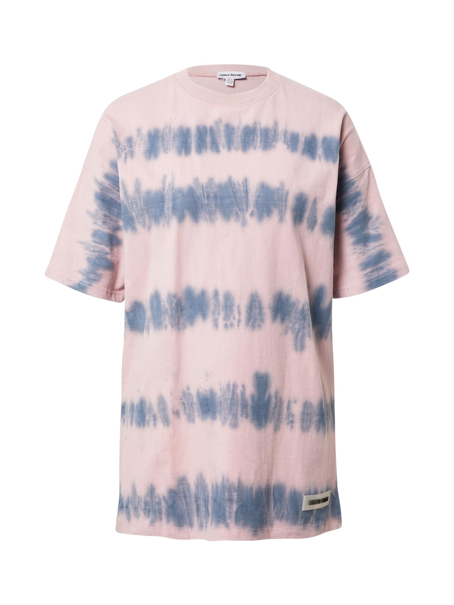 Public Desire Laisvi marškinėliai rožių spalva / mėlyna