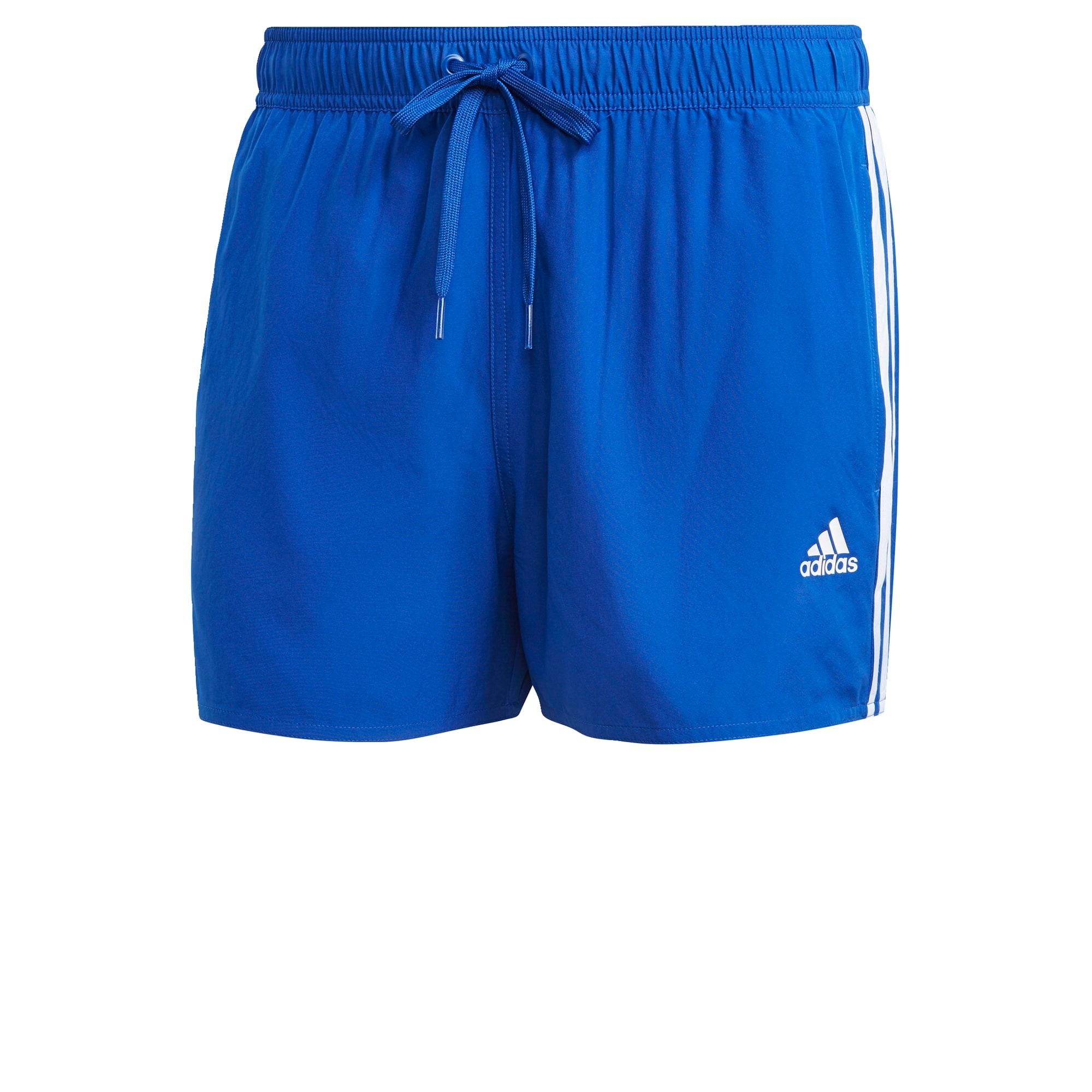 ADIDAS PERFORMANCE Sportinės glaudės balta / mėlyna