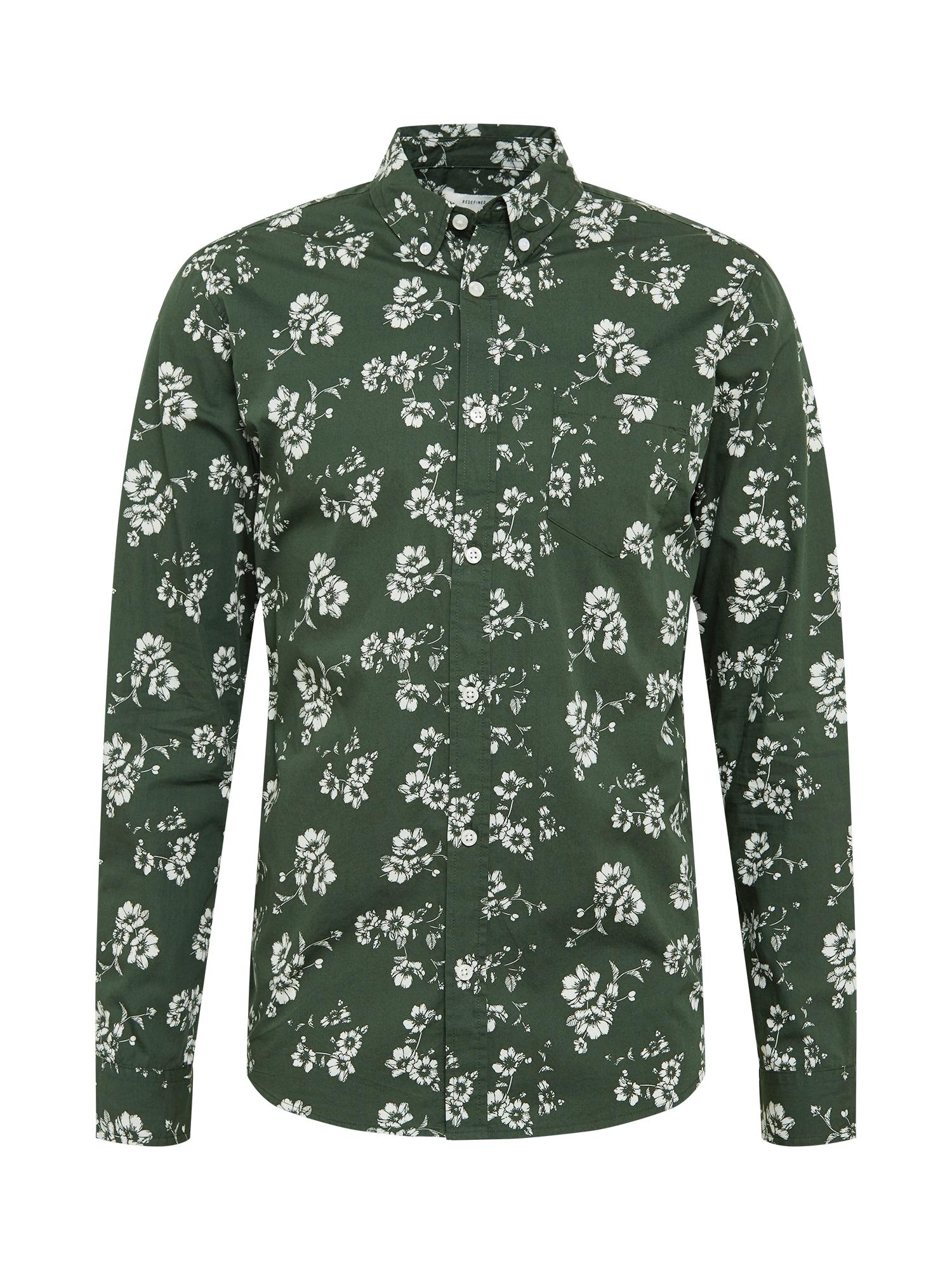 Redefined Rebel Marškiniai žolės žalia / balta