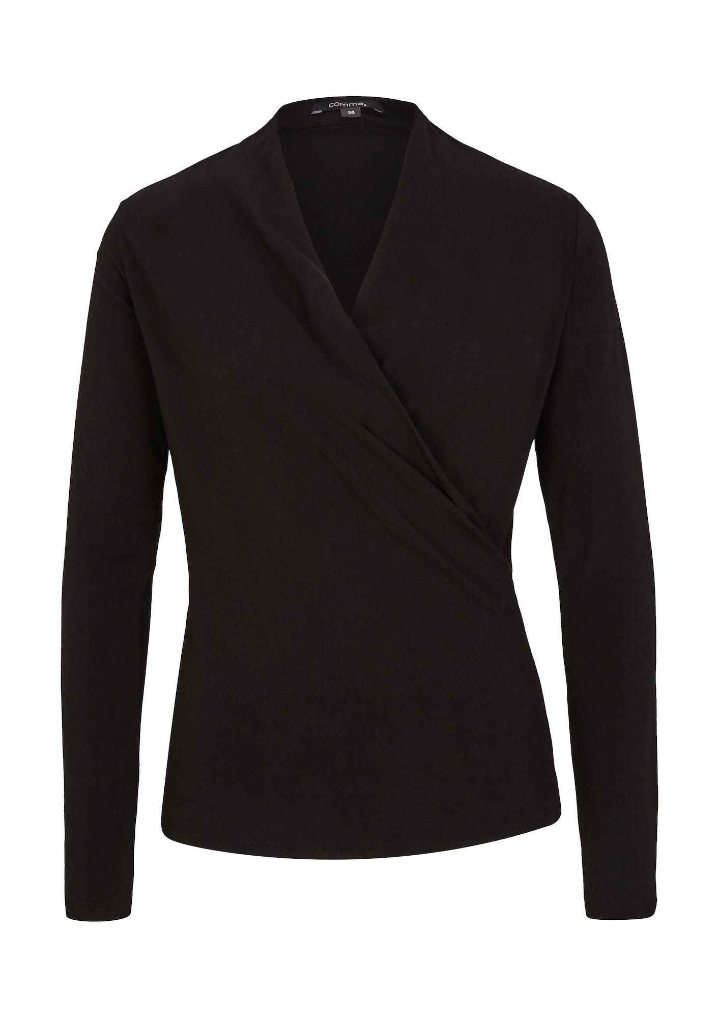 COMMA Marškinėliai juoda