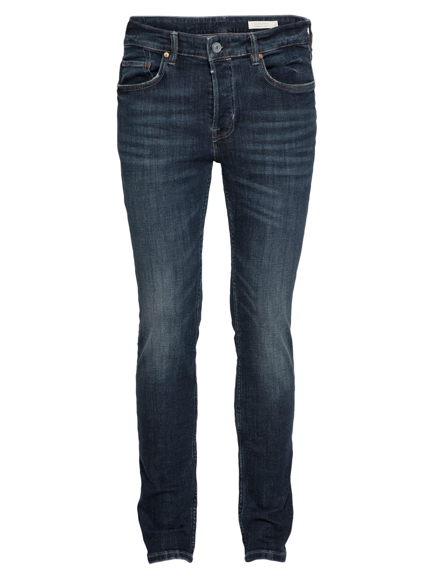 AllSaints Džinsai tamsiai (džinso) mėlyna / tamsiai mėlyna