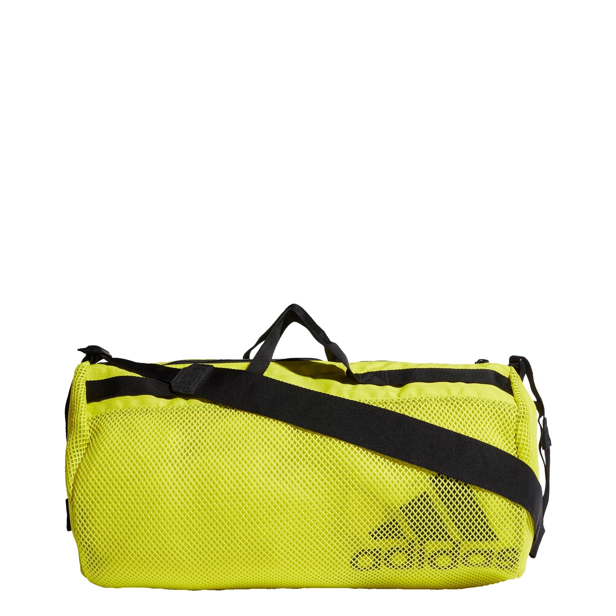 ADIDAS PERFORMANCE Sportinis krepšys neoninė geltona / juoda