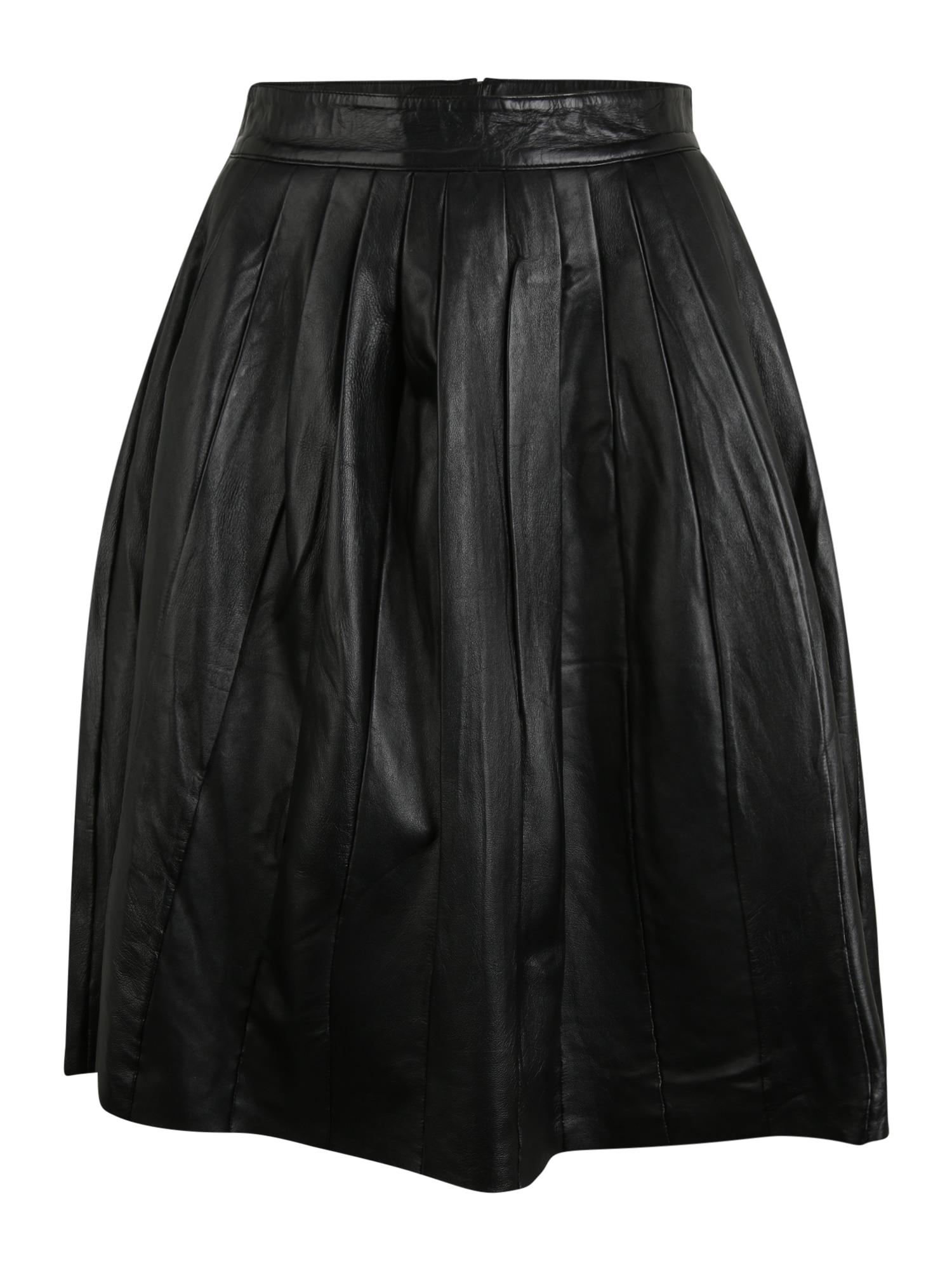 Selected Femme (Tall) Sijonas juoda