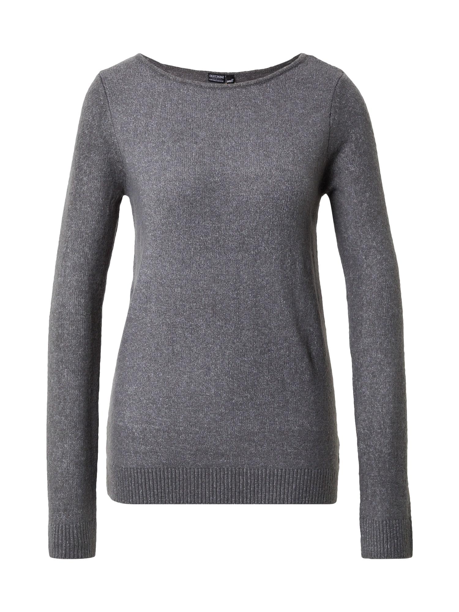 Eight2Nine Megztinis pilka