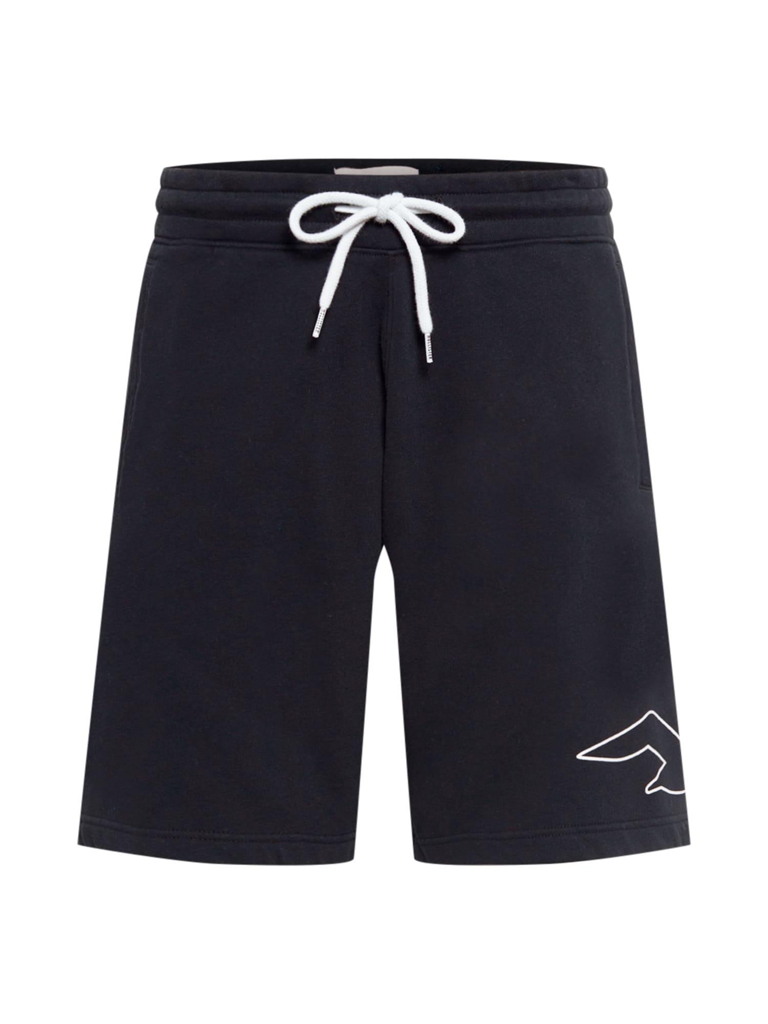 HOLLISTER Kelnės 'SB21-OPP' juoda / balta