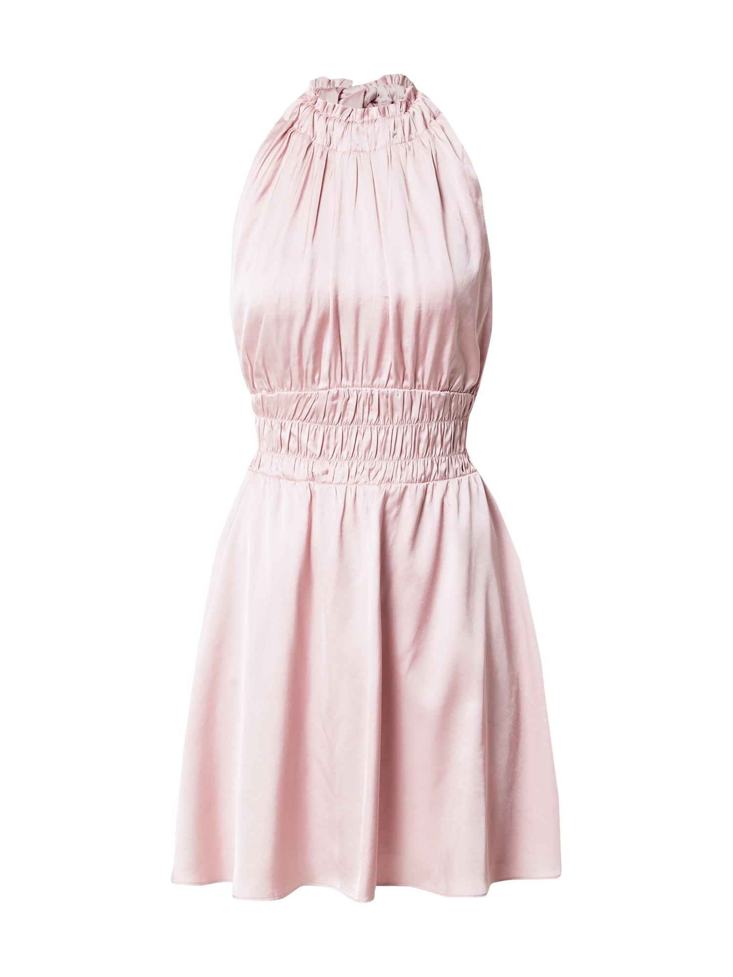Bardot Kokteilinė suknelė pastelinė violetinė