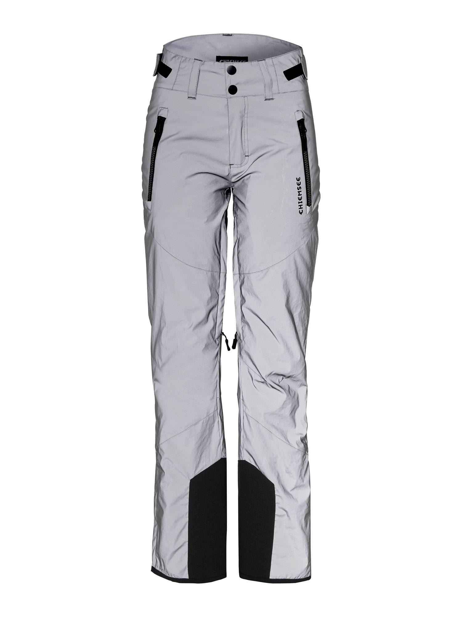 CHIEMSEE Sportovní kalhoty 'Kizzy'  stříbrná / černá