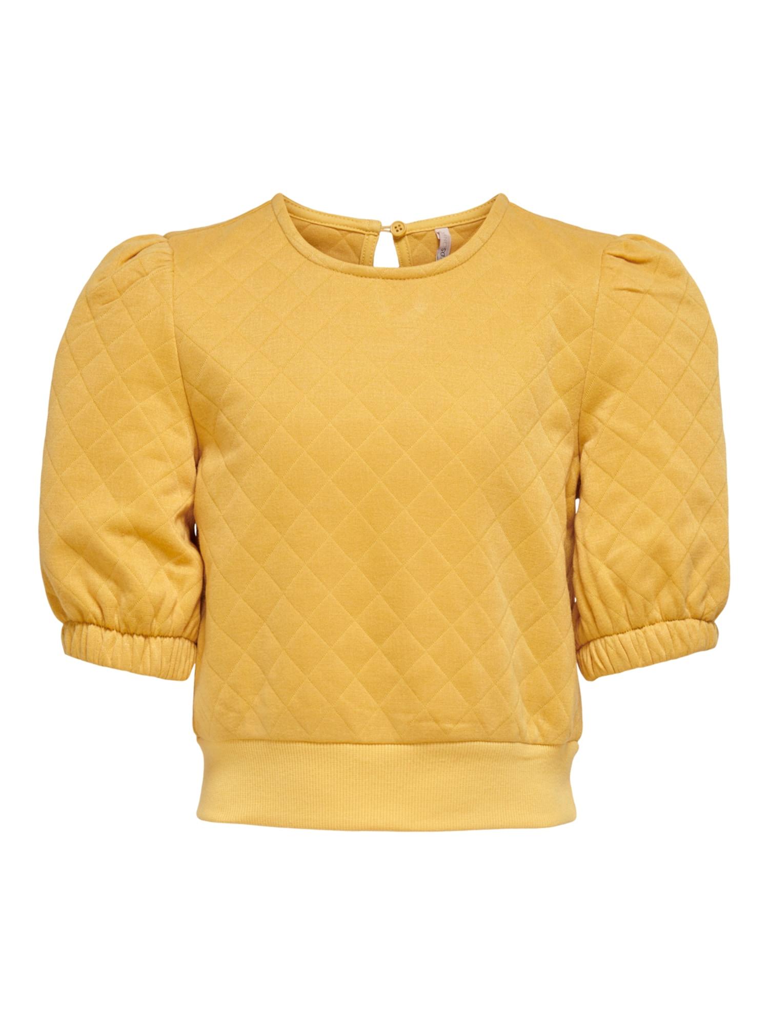 KIDS ONLY Megztinis be užsegimo geltona