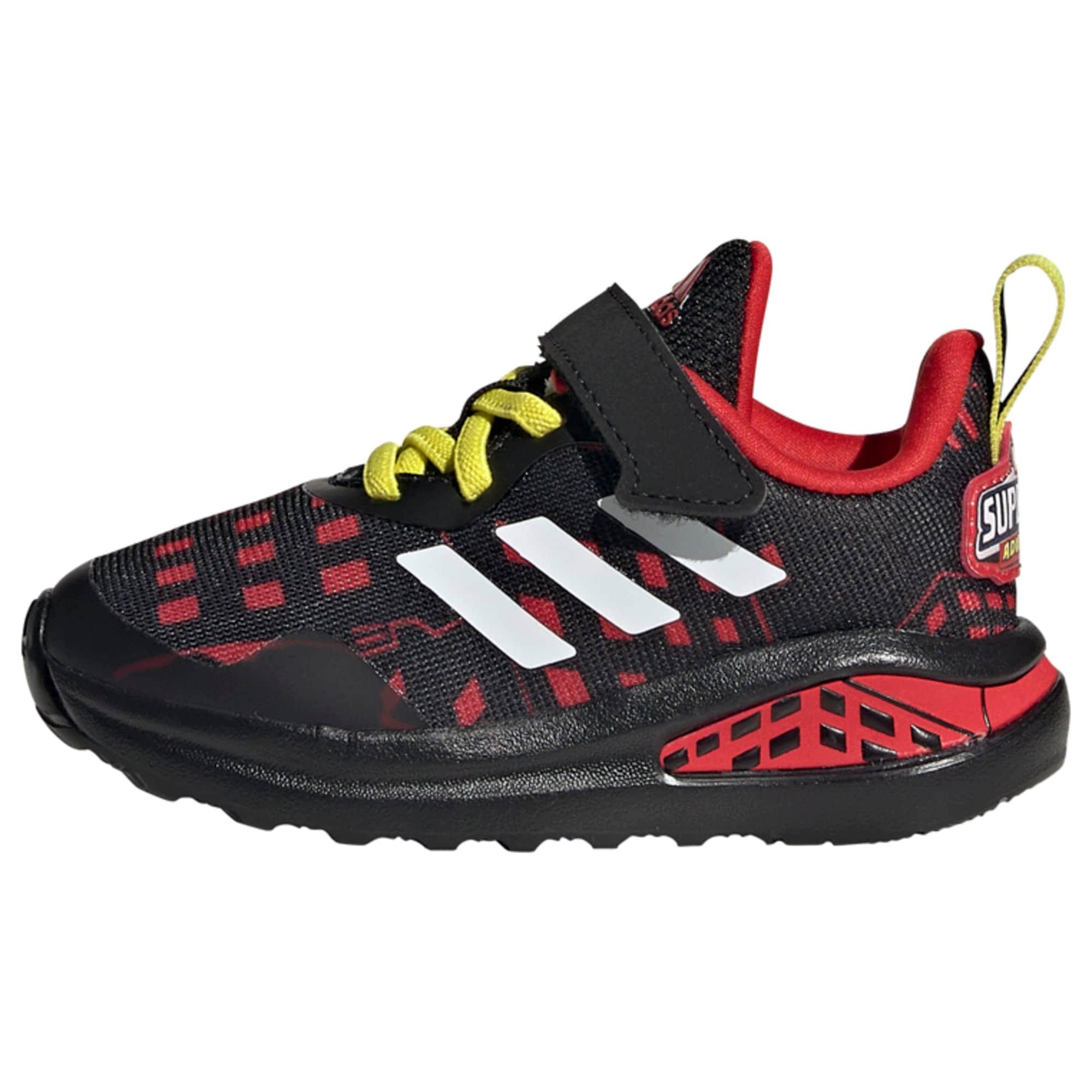 ADIDAS PERFORMANCE Sportiniai batai juoda / balta / raudona / geltona