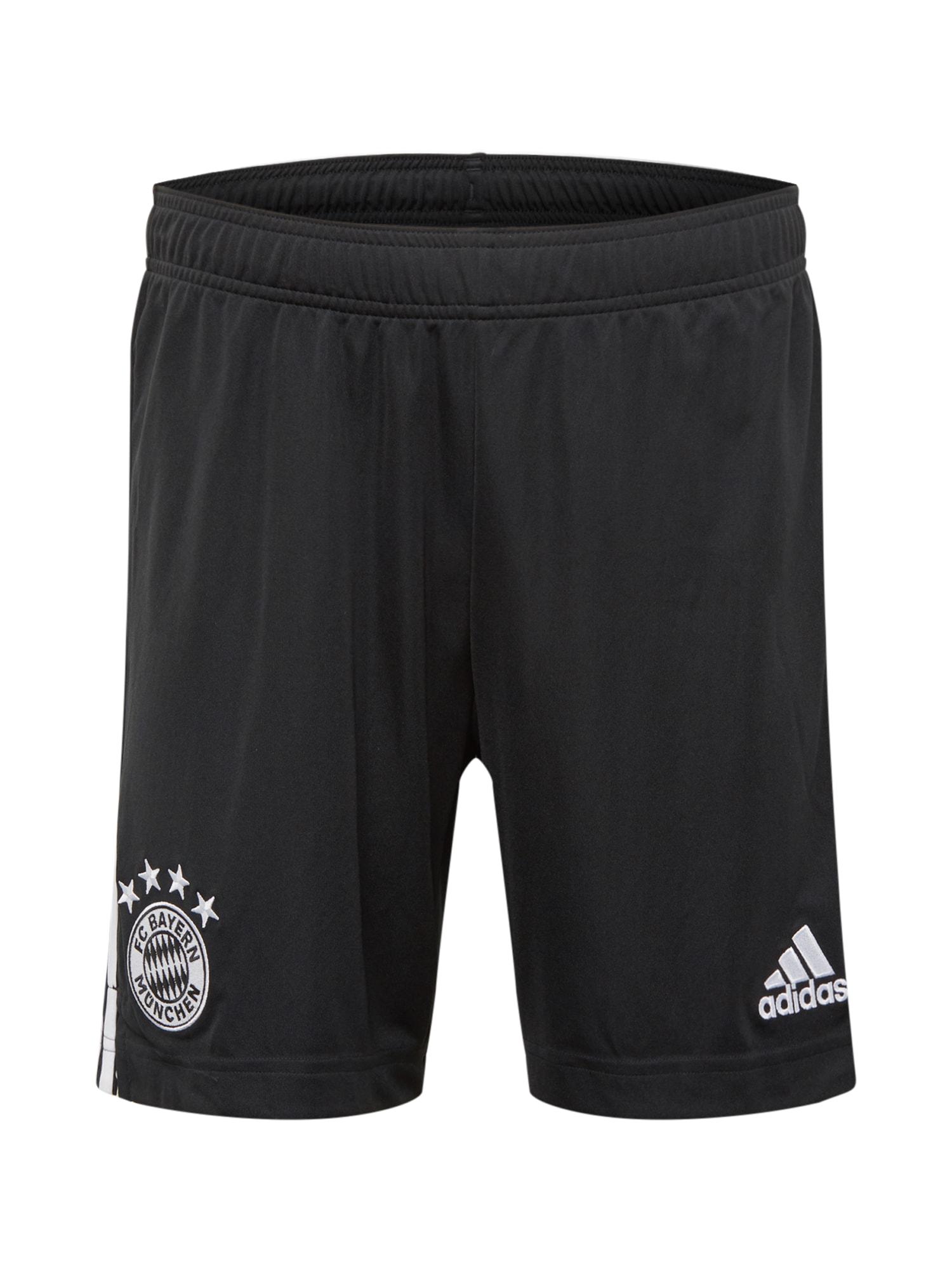 ADIDAS PERFORMANCE Sportovní kalhoty 'FC Bayern München 20/21'  černá