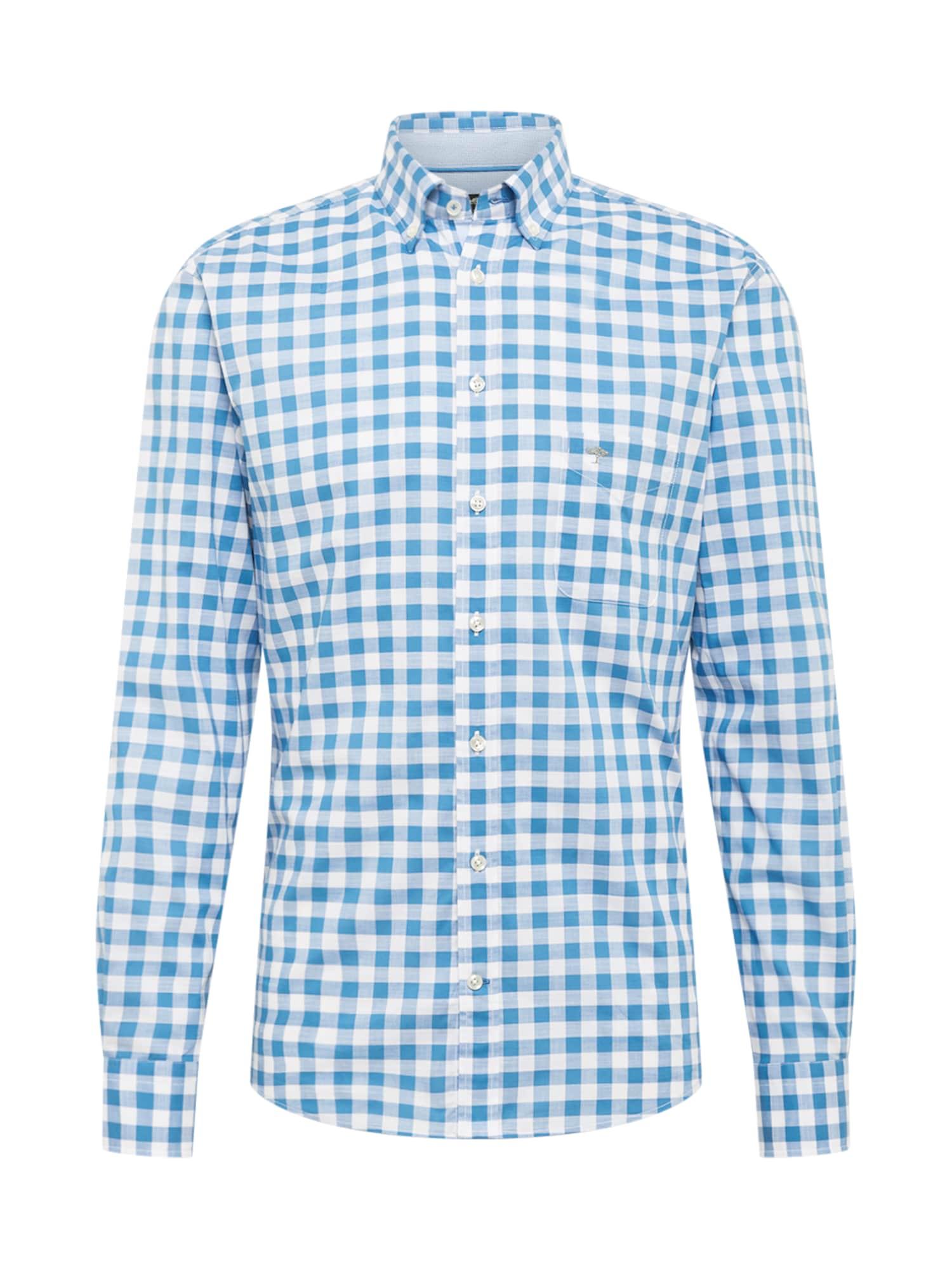 FYNCH-HATTON Marškiniai mėlyna / balta