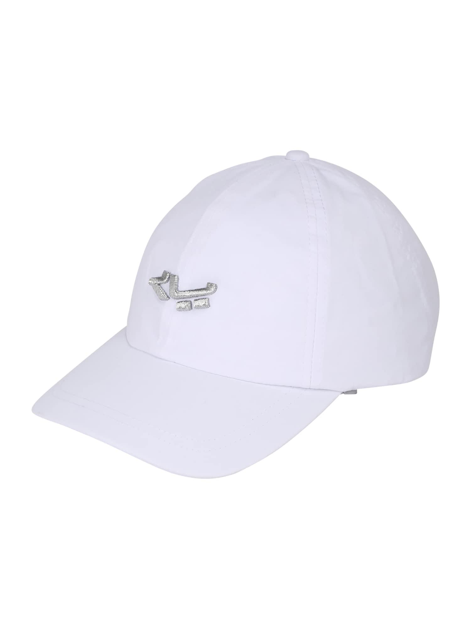Röhnisch Sportinė kepurė balta / sidabrinė