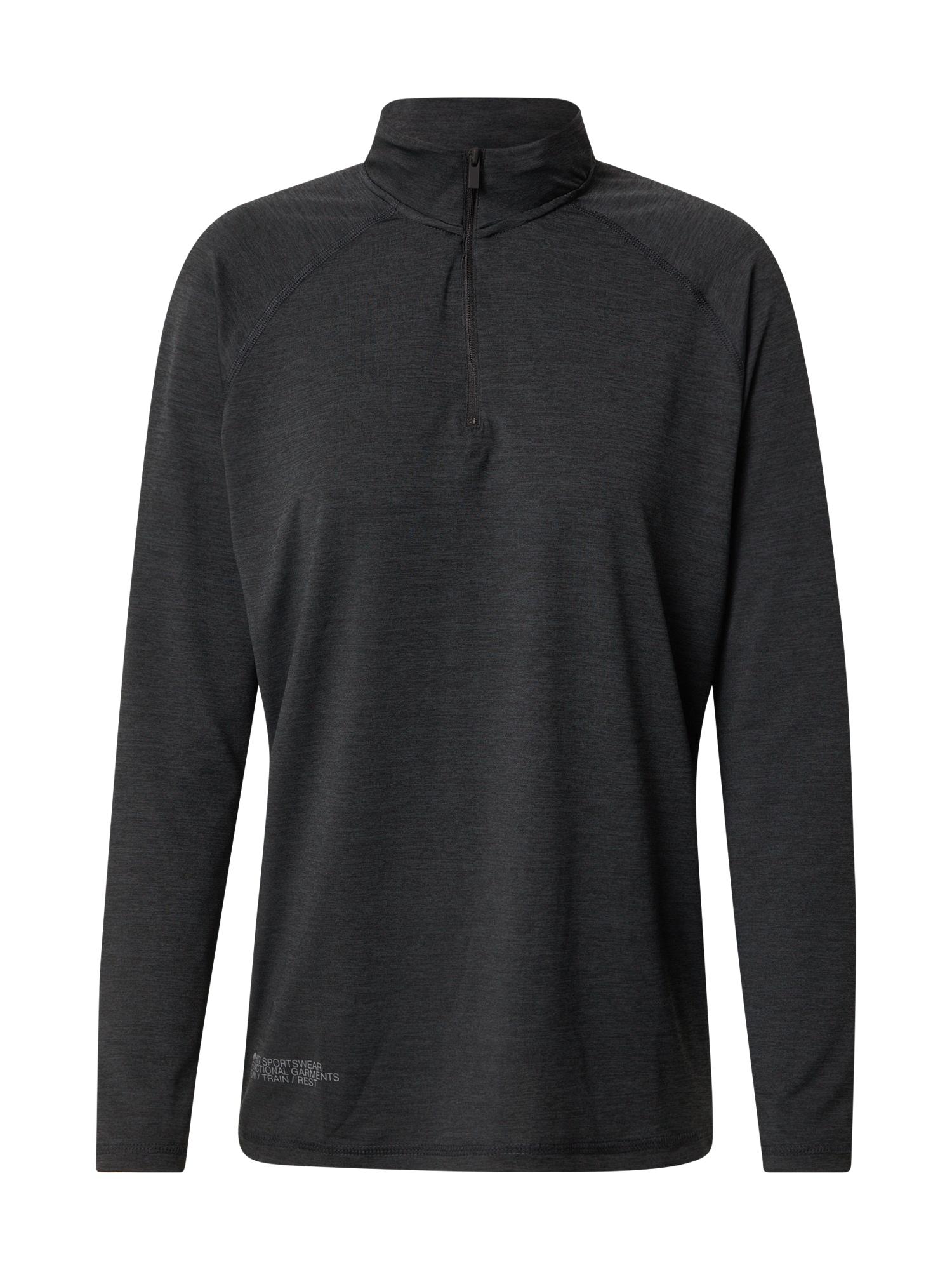 HIIT Sportiniai marškinėliai margai juoda