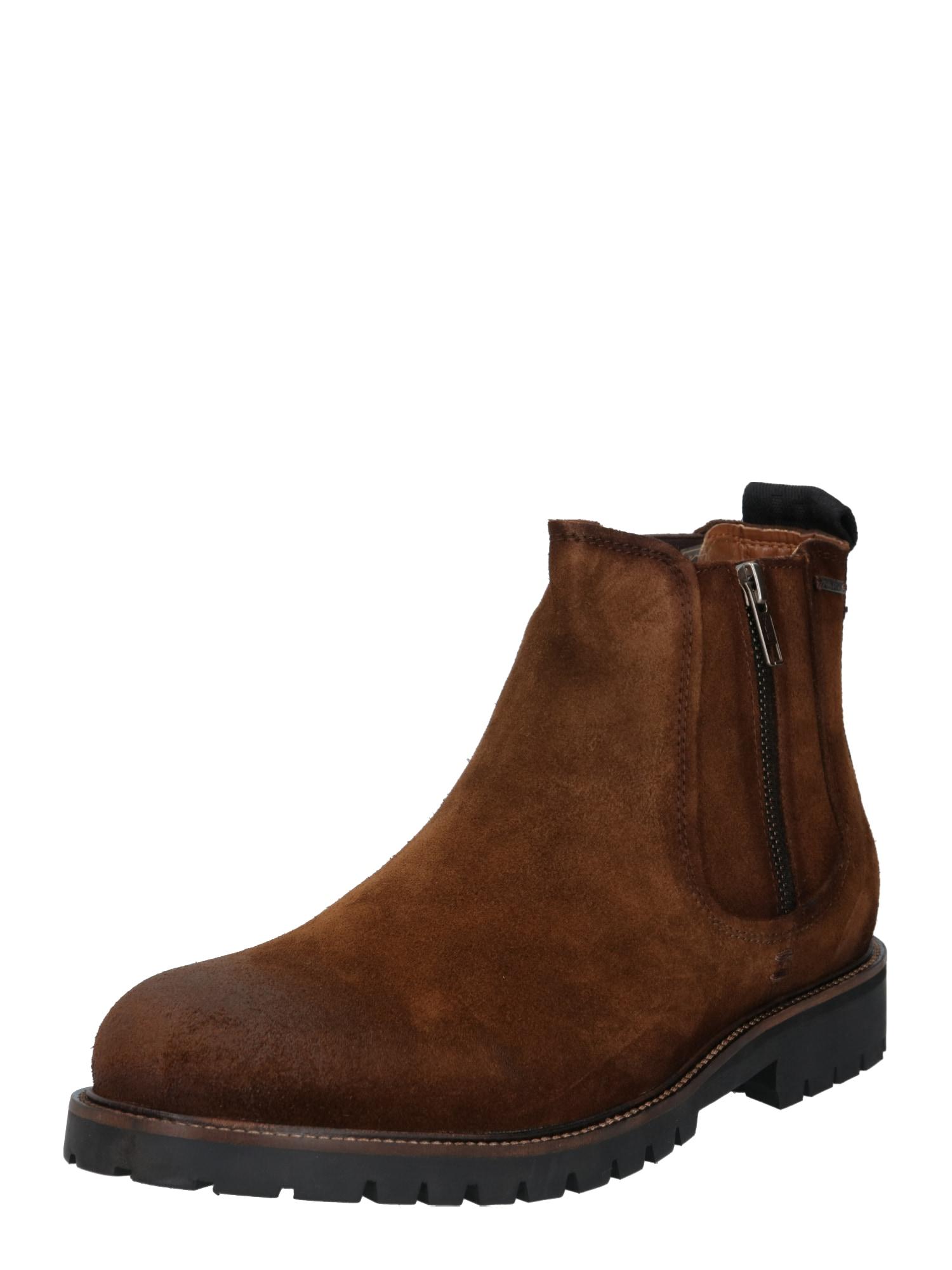 "Pepe Jeans ""Chelsea"" batai karamelės / tamsiai ruda / juoda"