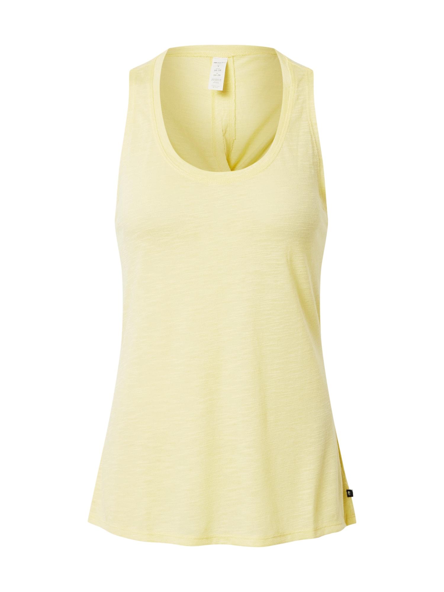 Marika Sportovní top 'Gracie'  žlutá