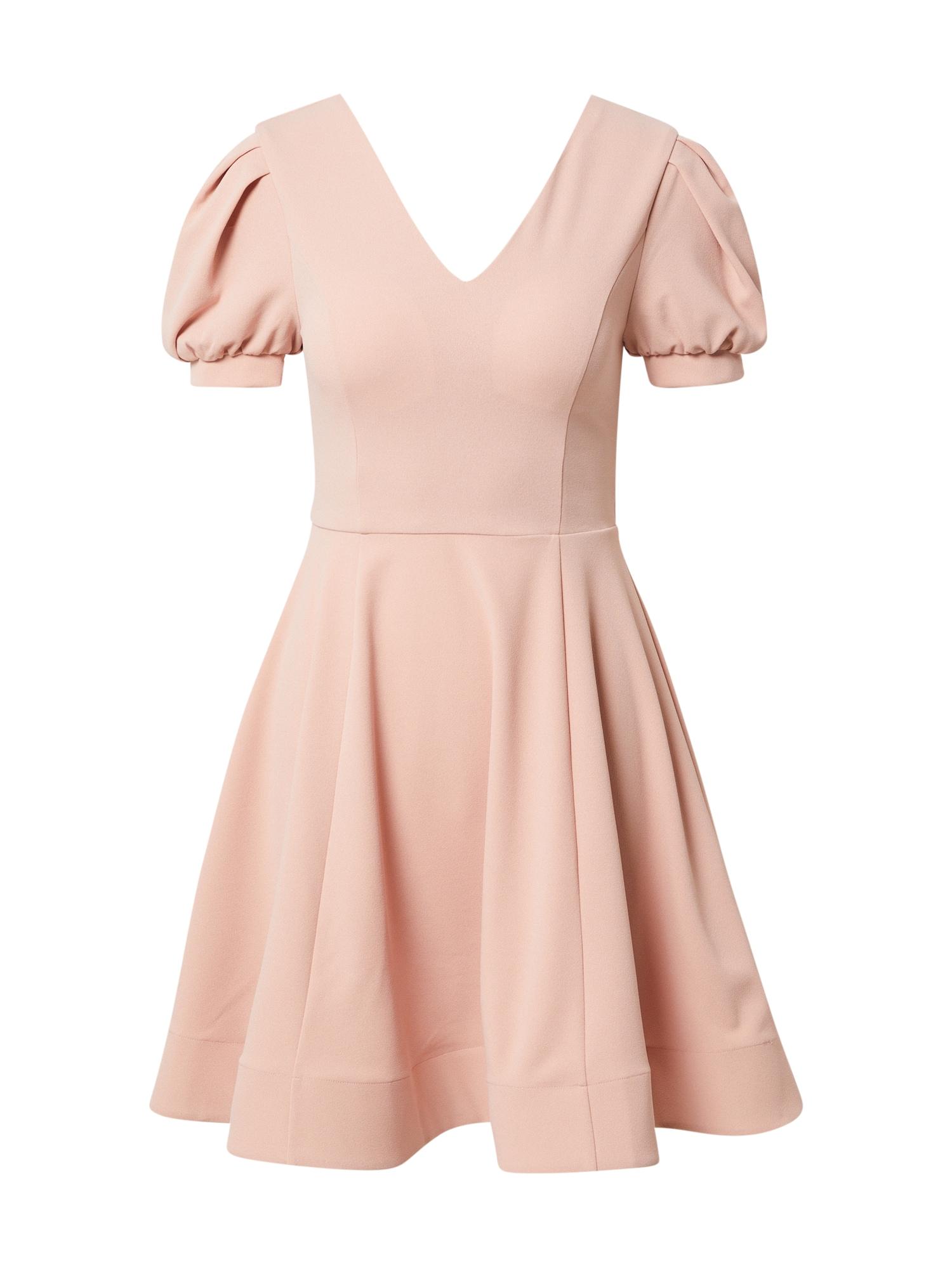 Skirt & Stiletto Kokteilinė suknelė kūno spalva