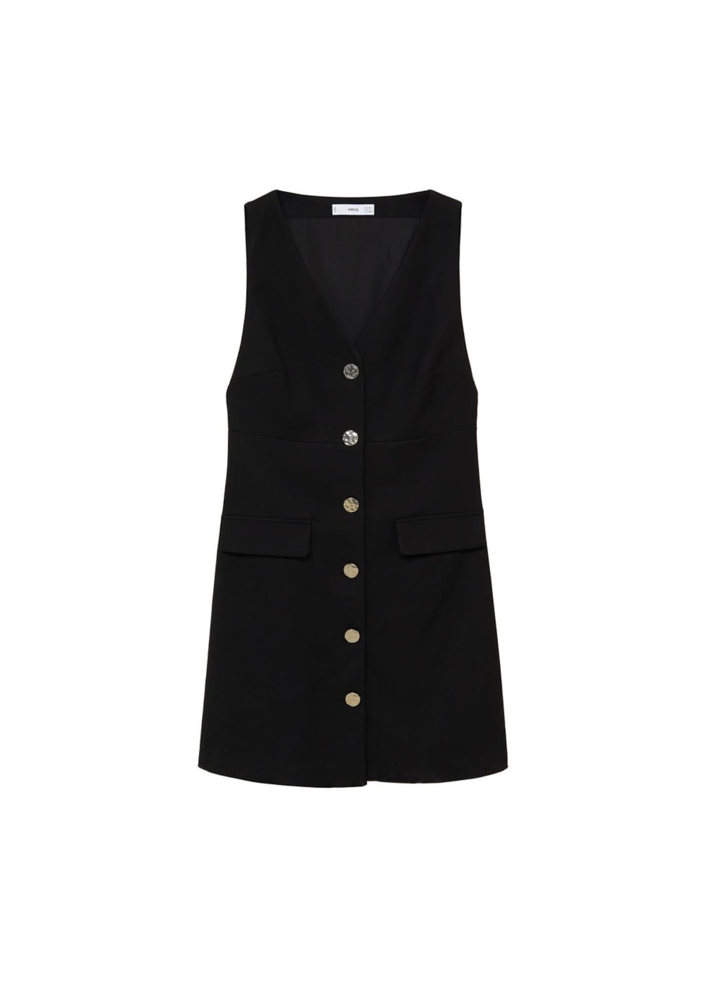 MANGO Šaty 'lolita'  černá