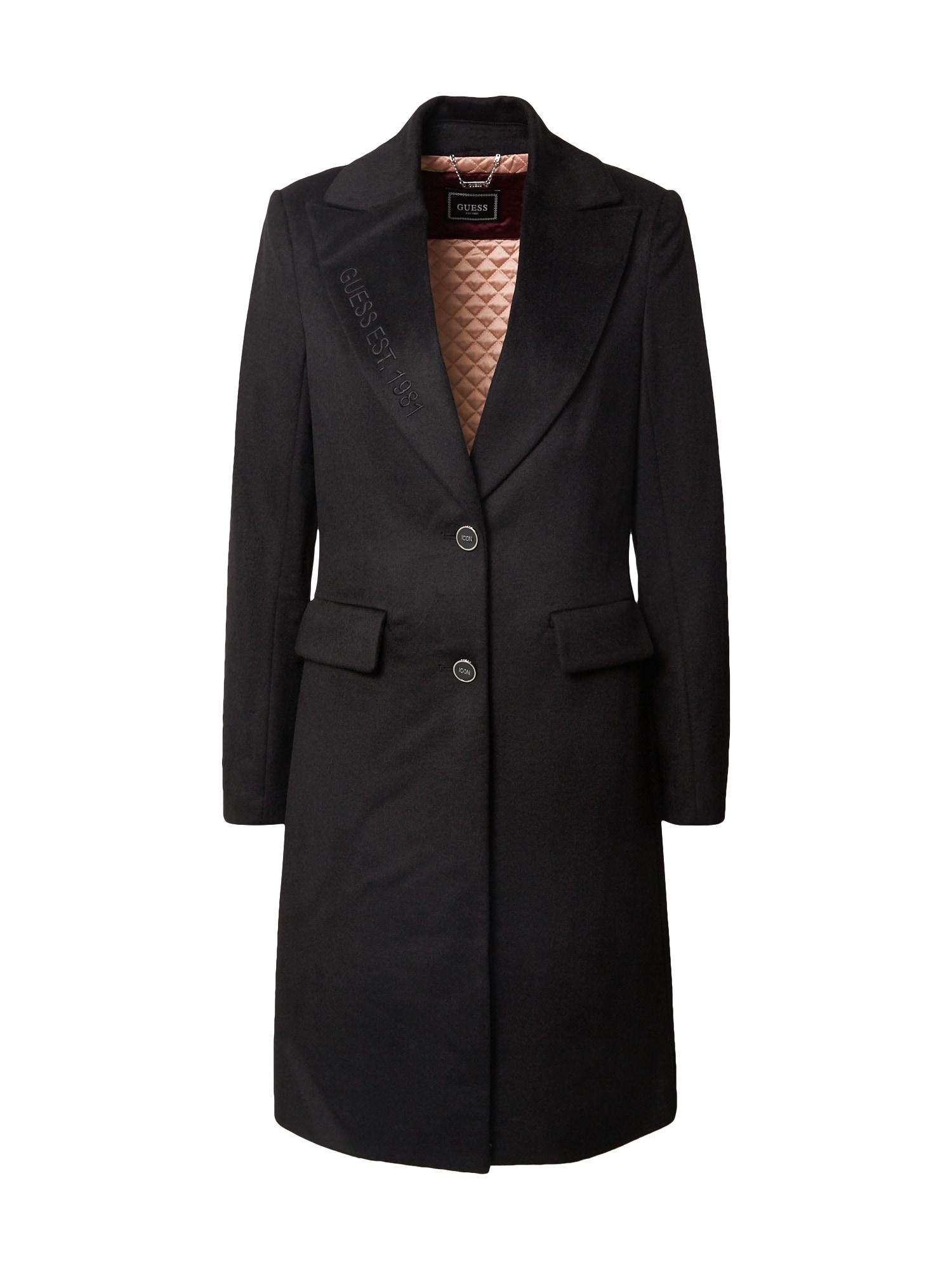 GUESS Prechodný kabát 'Adenora'  čierna