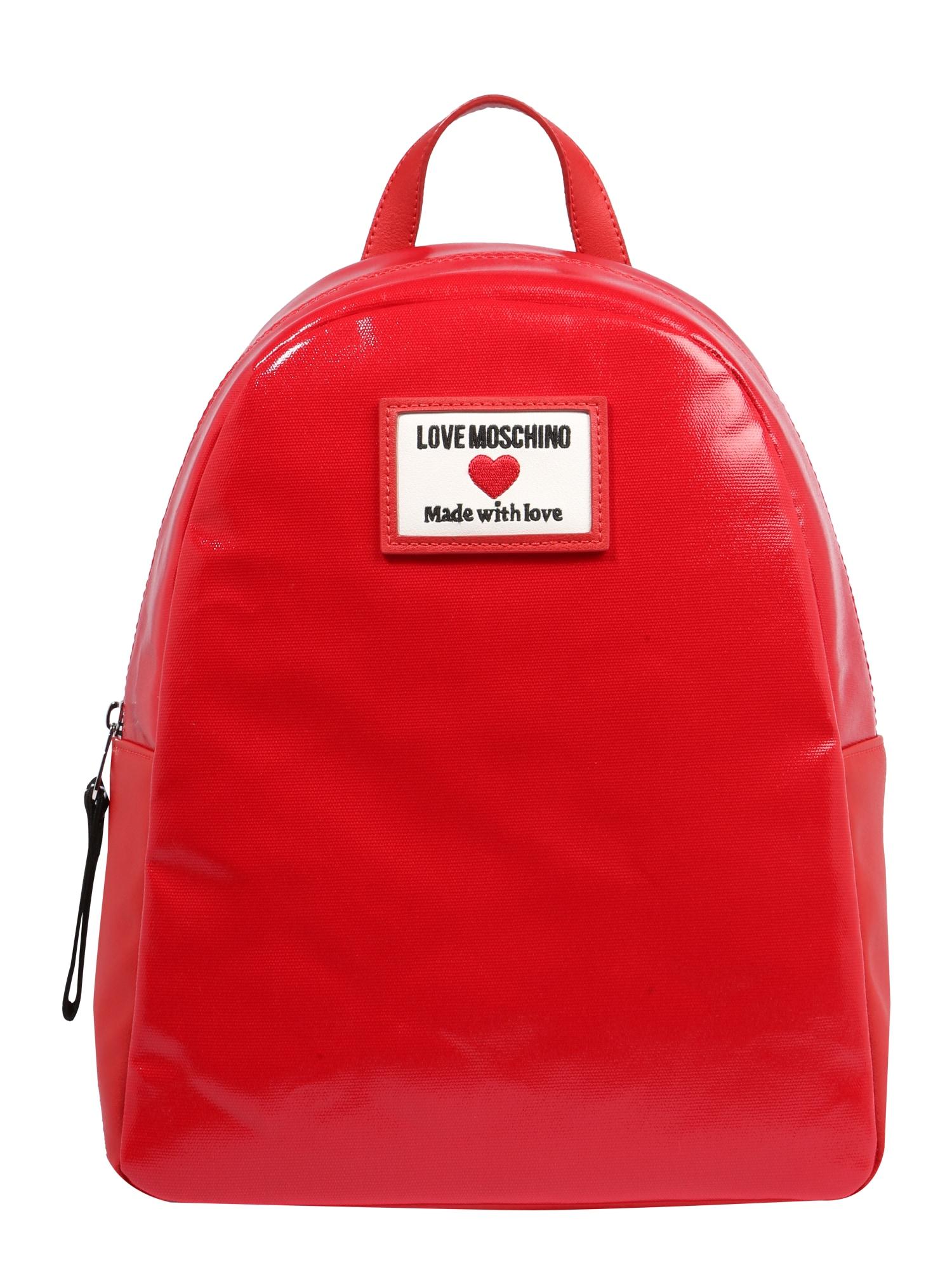 Love Moschino Kuprinė raudona