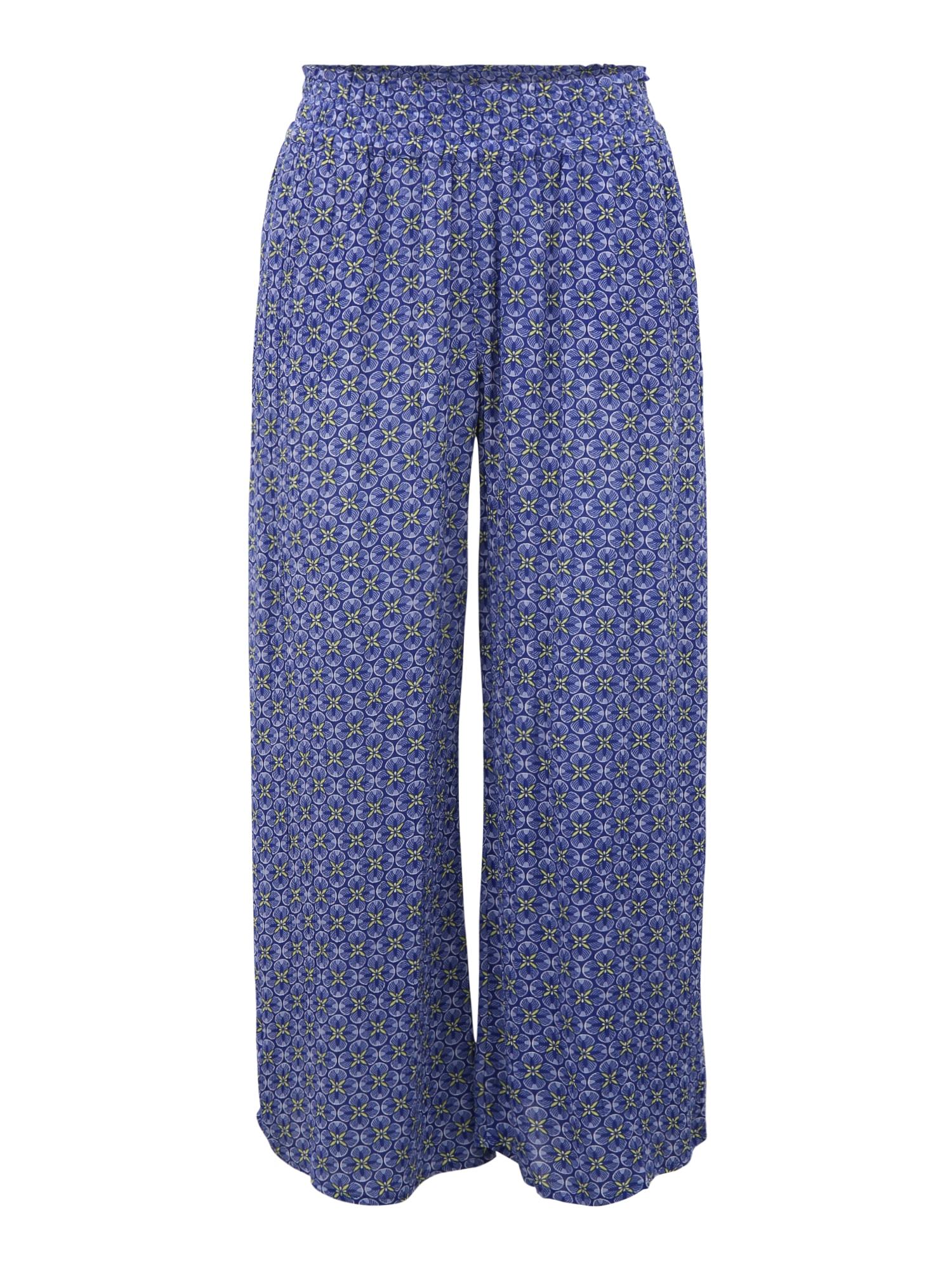 ETAM Pyžamové nohavice 'ASSIA'  modrá / svetlomodrá / žltá