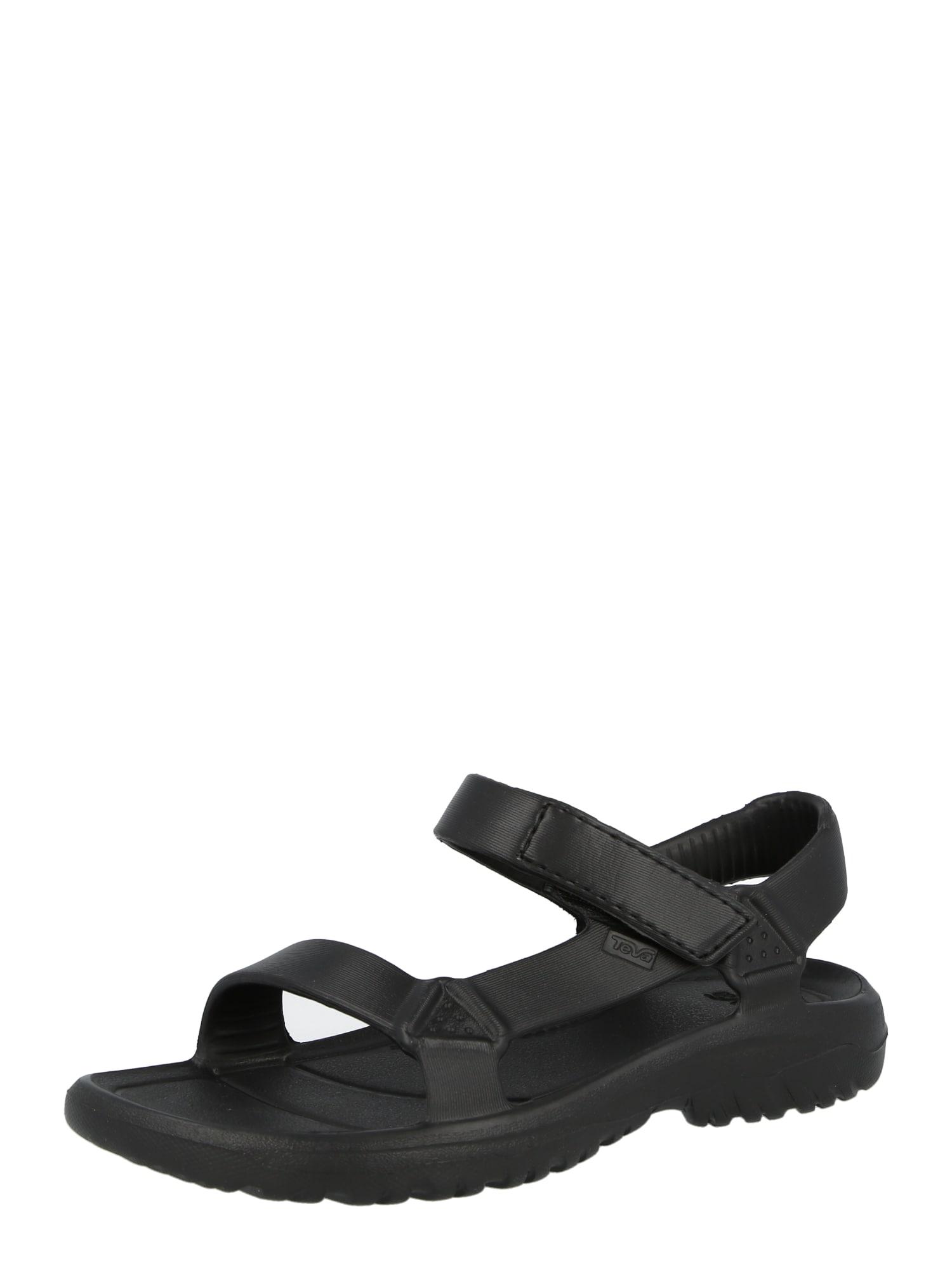 TEVA Atviri batai juoda
